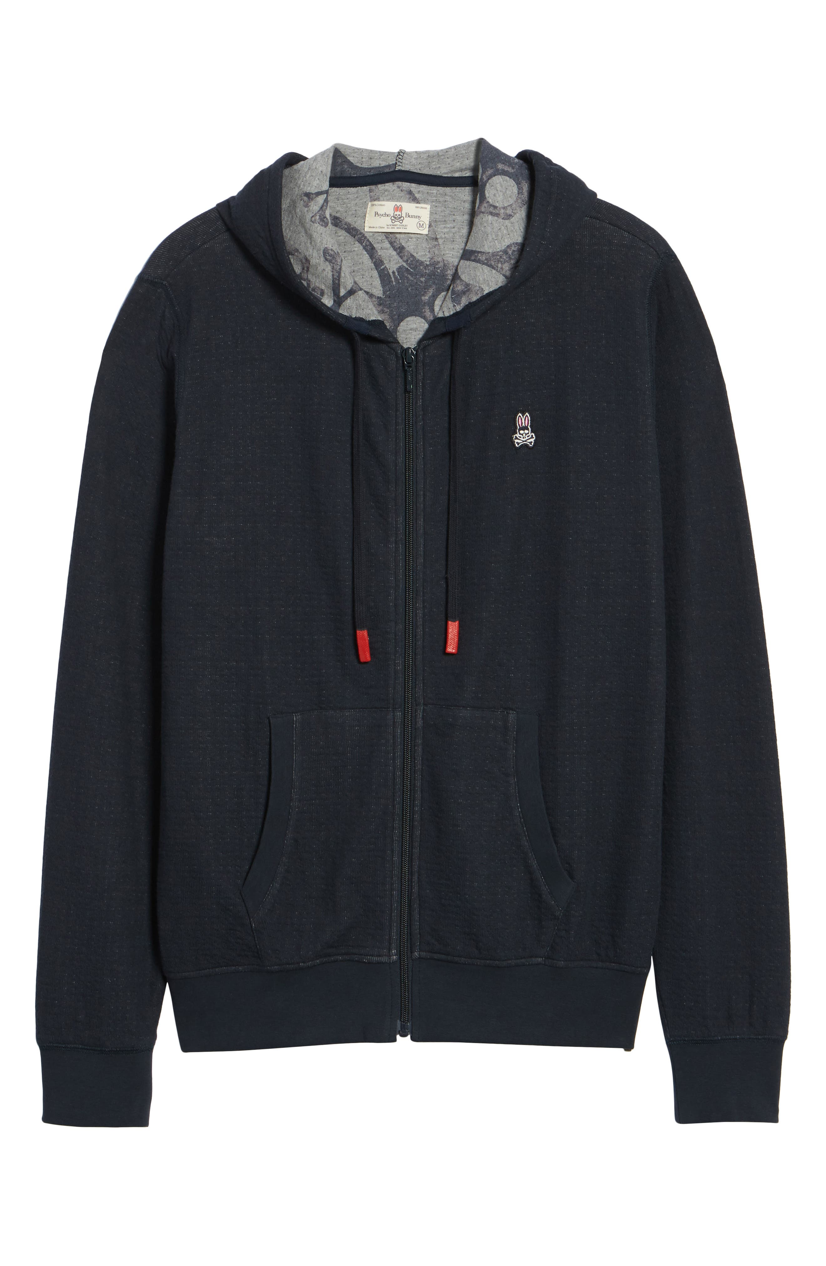 Double Face Hoodie,                             Alternate thumbnail 6, color,                             Navy
