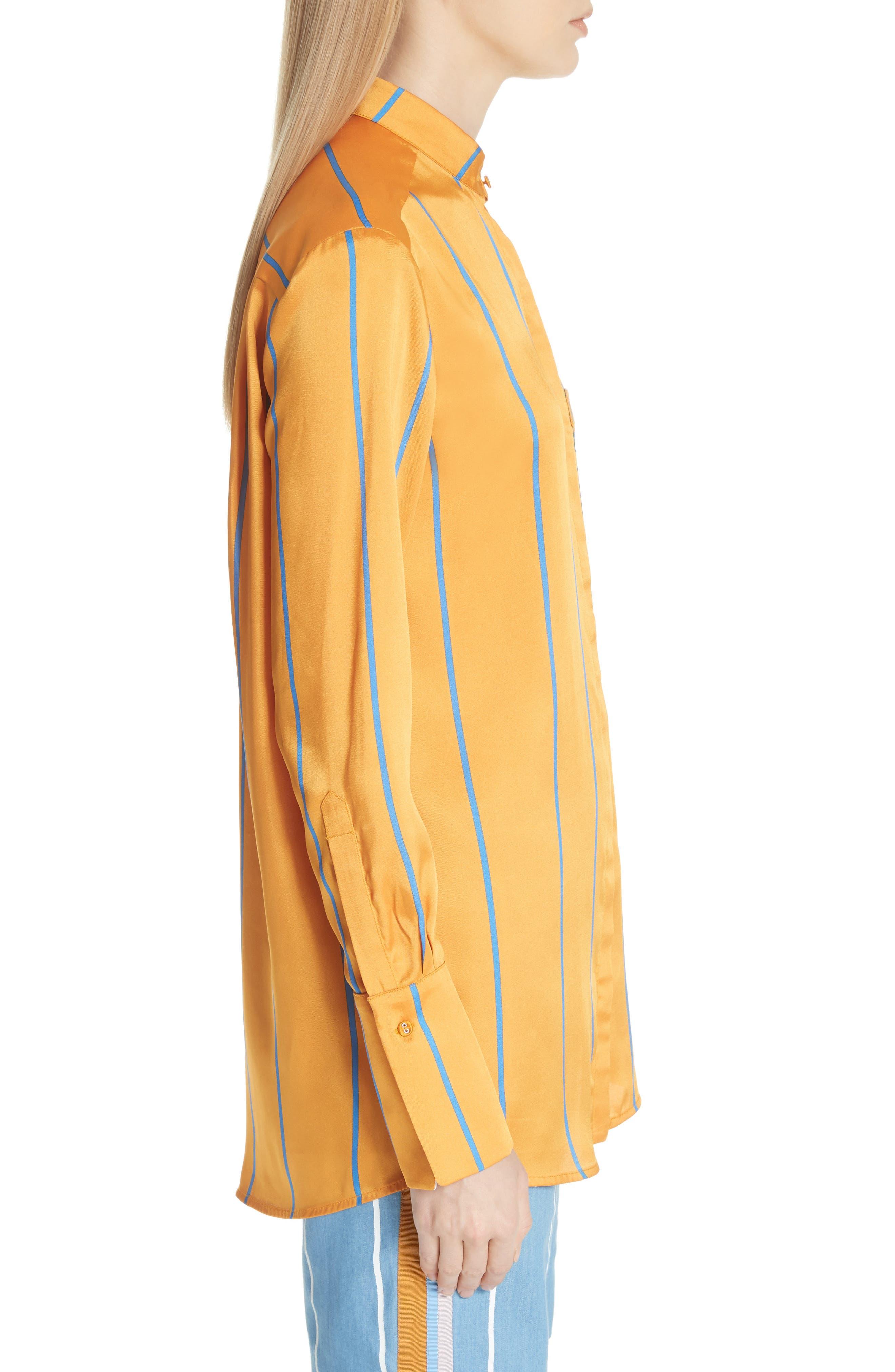Alternate Image 3  - Victoria, Victoria Beckham Stripe Shirt