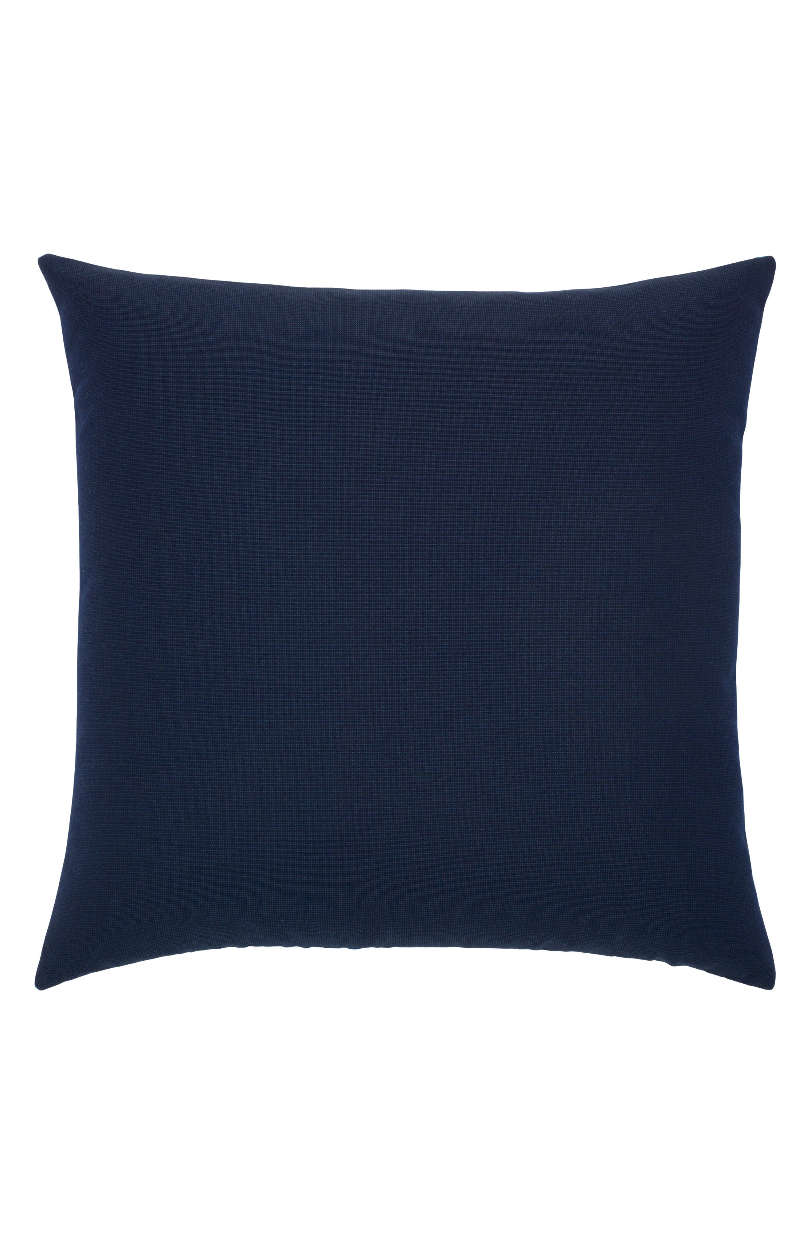 Optic Azure Indoor/Outdoor Accent Pillow,                             Alternate thumbnail 3, color,                             Blue