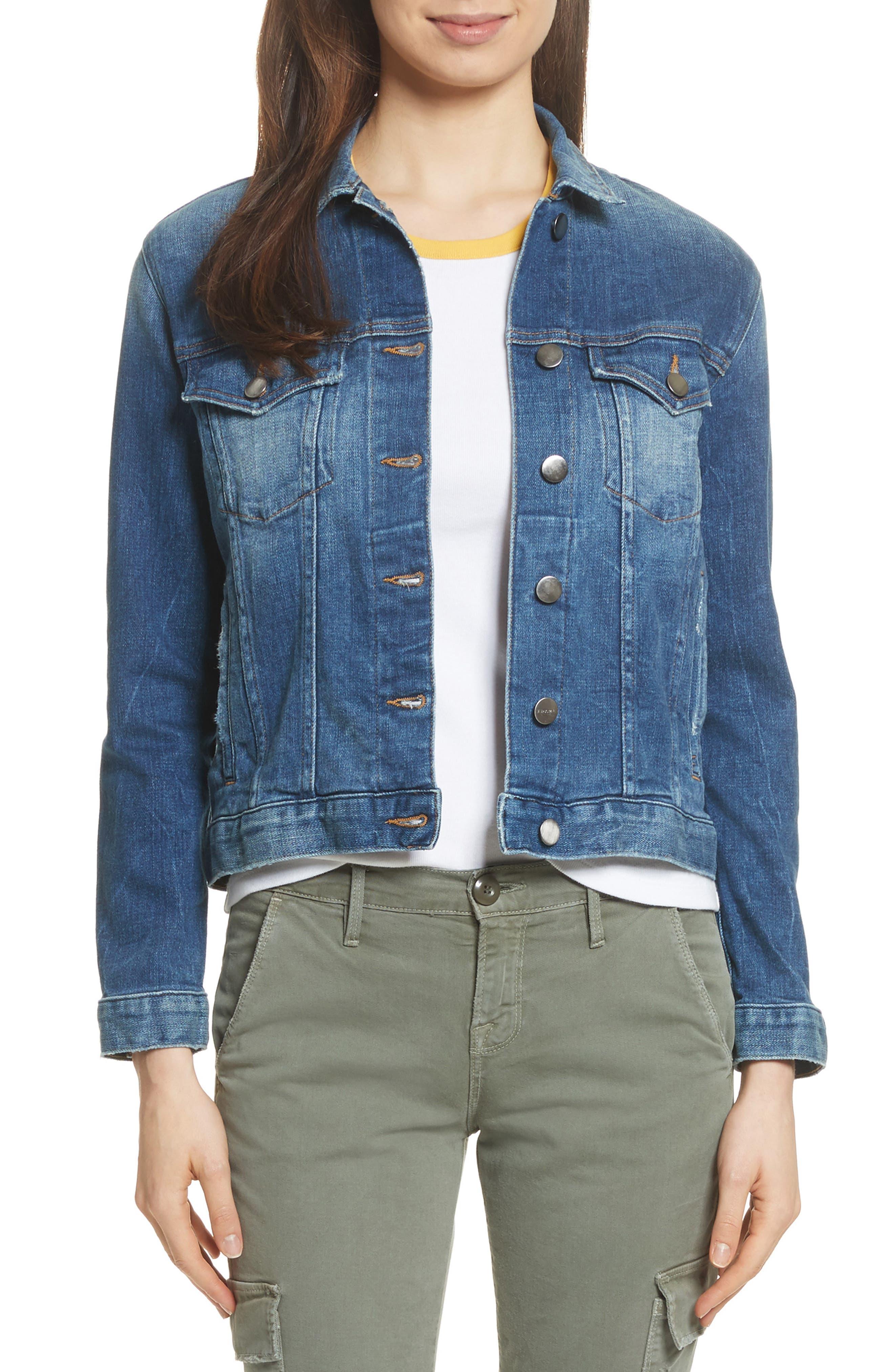 Le Vintage Denim Jacket,                         Main,                         color, Waltham Way