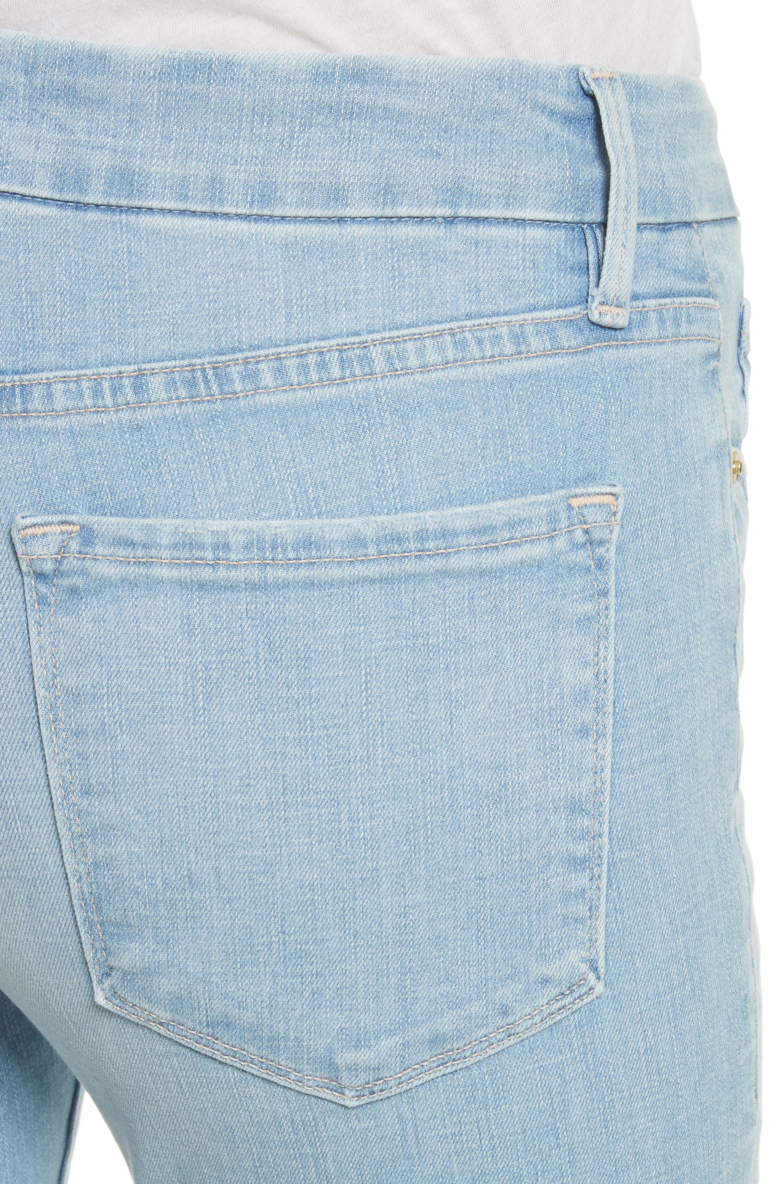 Le Crop Mini Boot Jeans,                             Alternate thumbnail 4, color,                             Kitwood