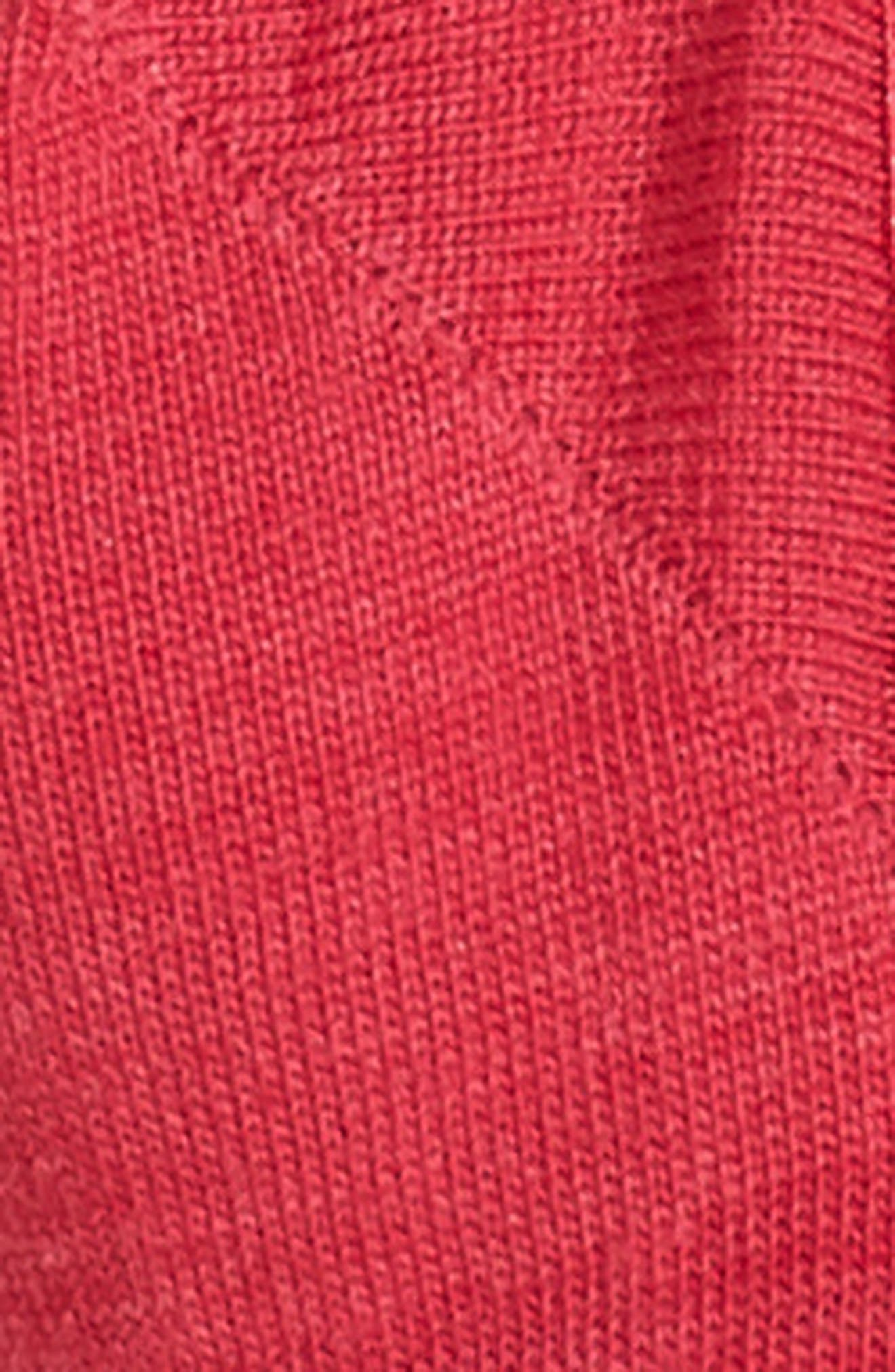 Secret Sleuth No-Show Socks,                             Alternate thumbnail 2, color,                             Potion Pink