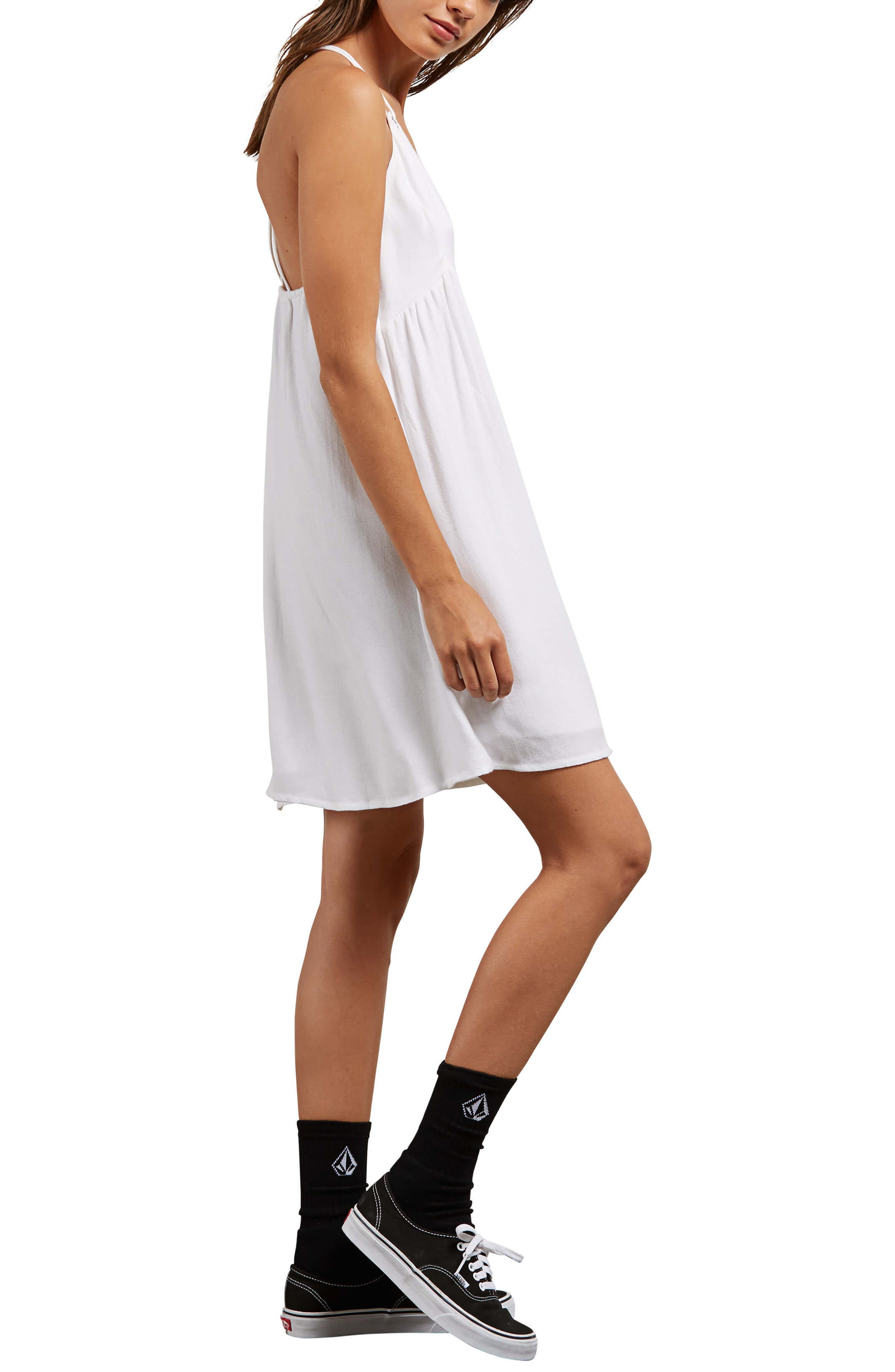 You Want This Strappy Dress,                             Alternate thumbnail 3, color,                             White