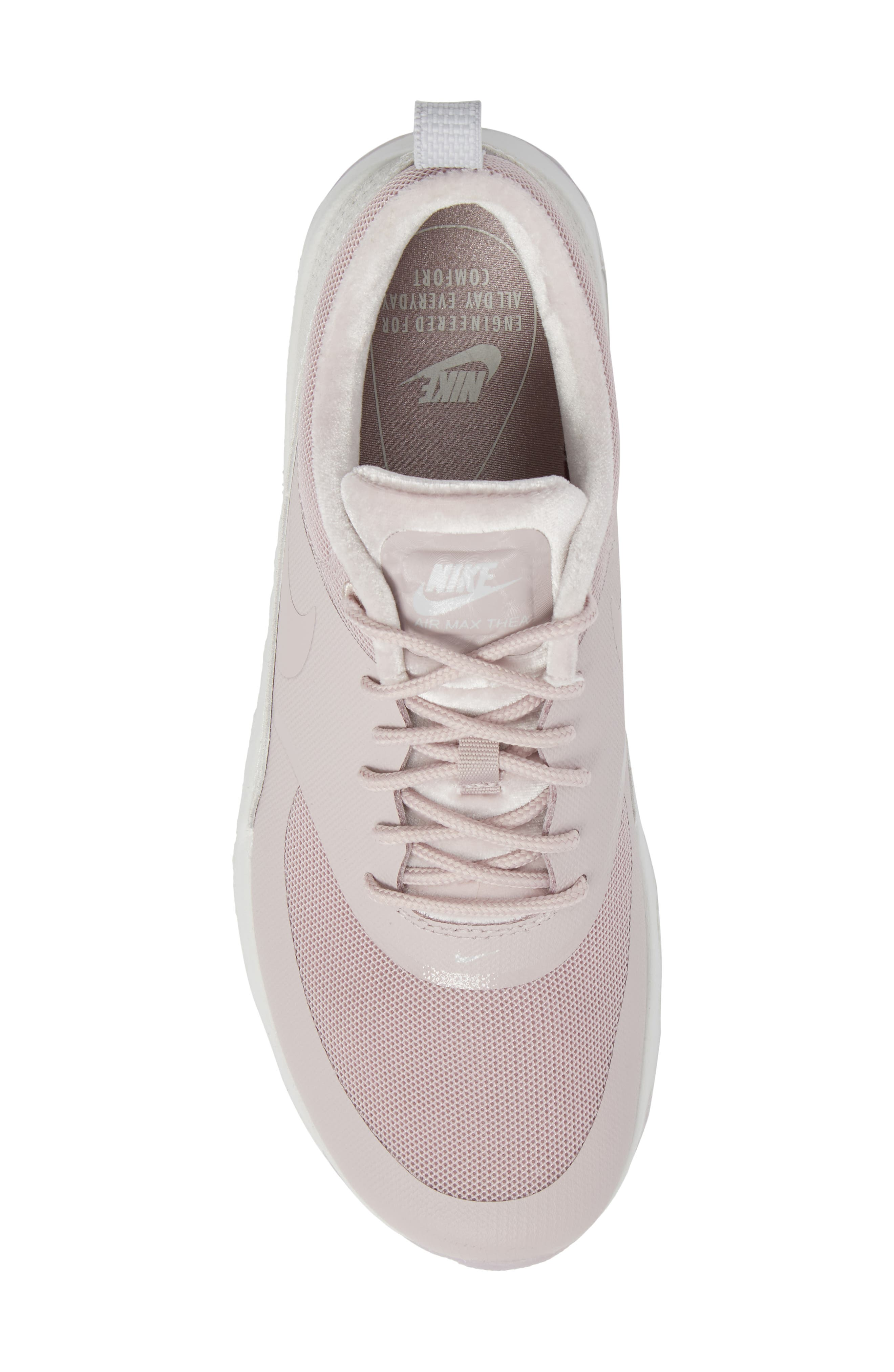 Air Max Thea LX Sneaker,                             Alternate thumbnail 5, color,                             Particle Rose/ Particle Rose