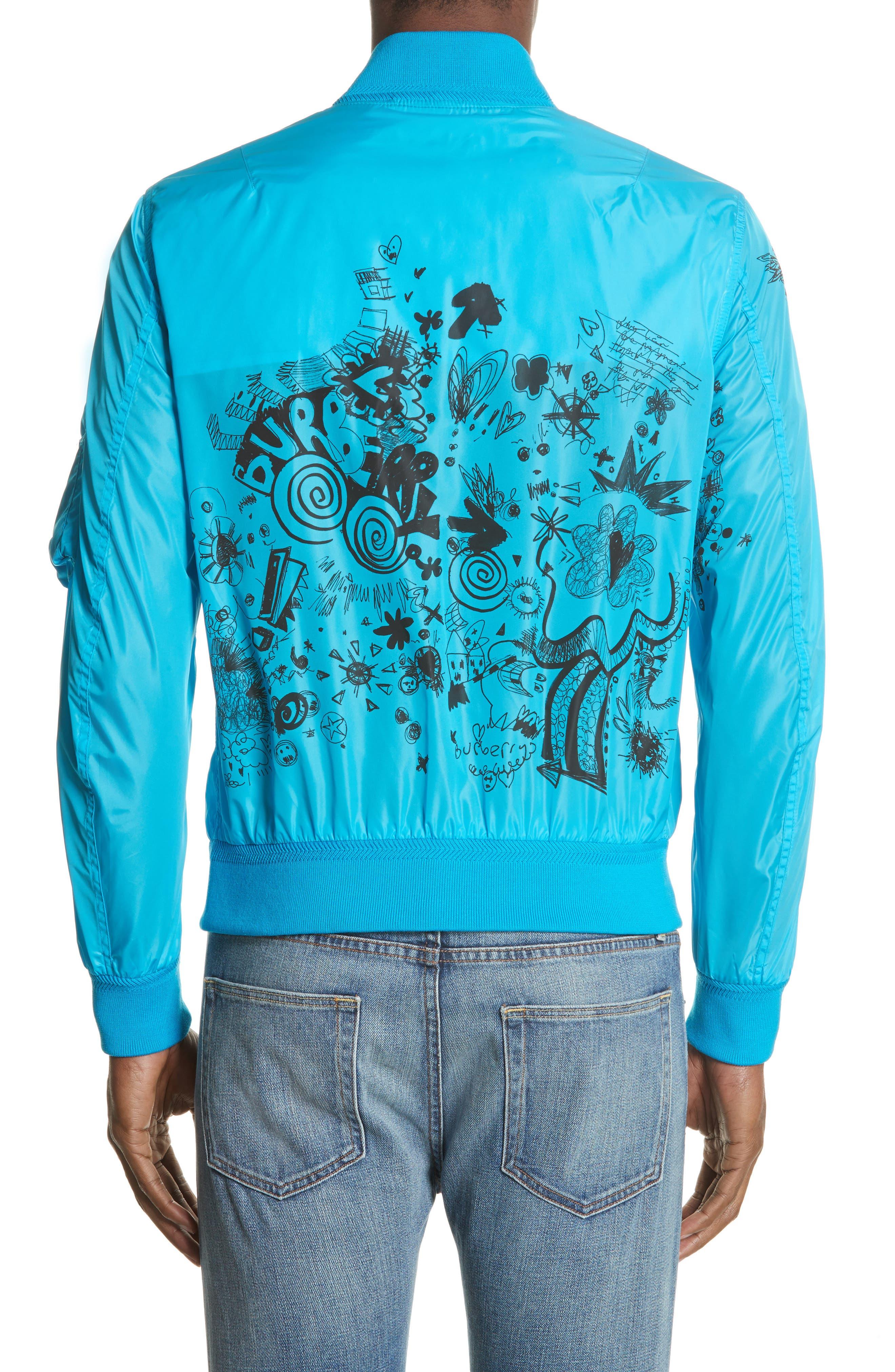 Brinkley Standard Fit Jacket,                             Alternate thumbnail 2, color,                             Bright Blue