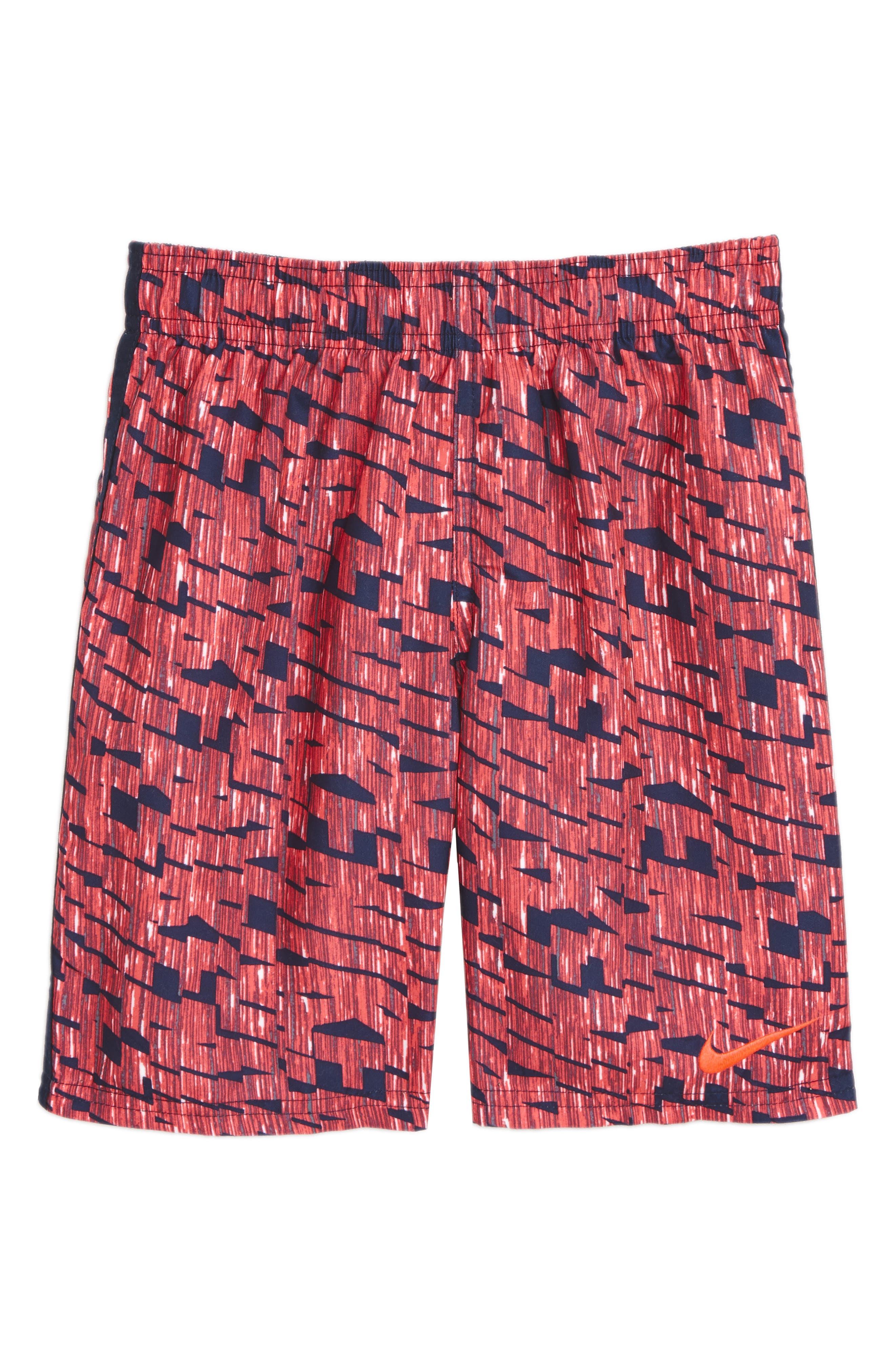 Diverge Board Shorts,                             Main thumbnail 1, color,                             Hot Punch