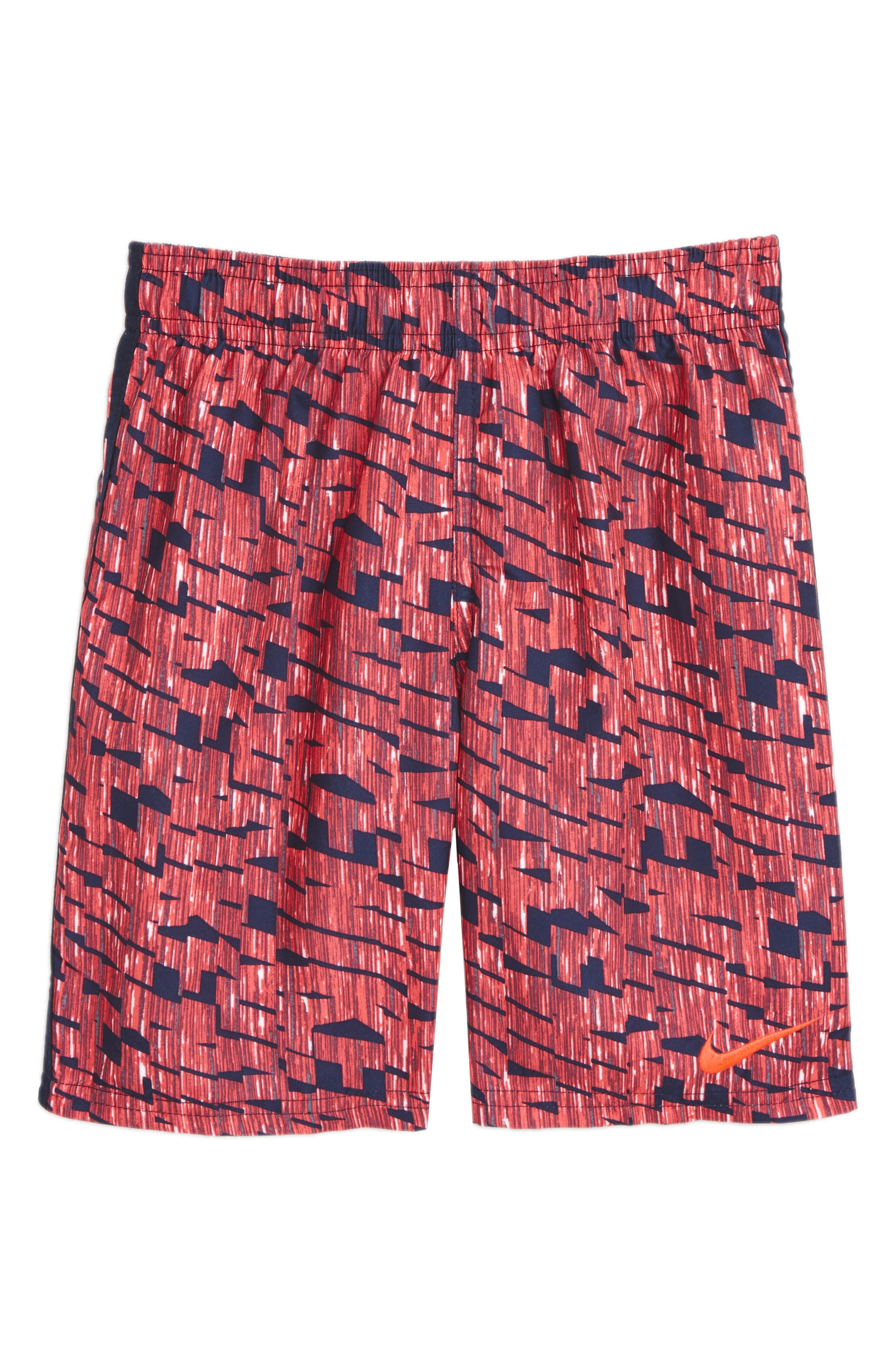 Diverge Board Shorts,                         Main,                         color, Hot Punch