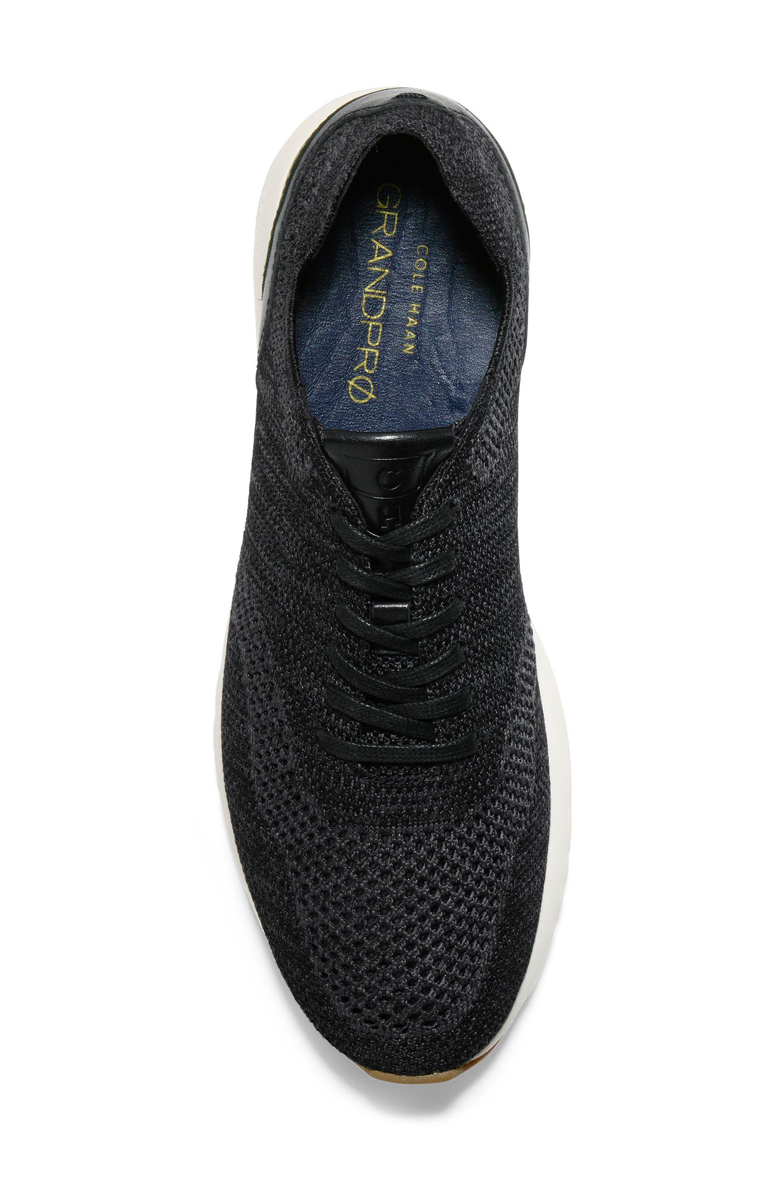 GrandPro Runner Stitchlite Sneaker,                             Alternate thumbnail 5, color,                             Black / Magnet