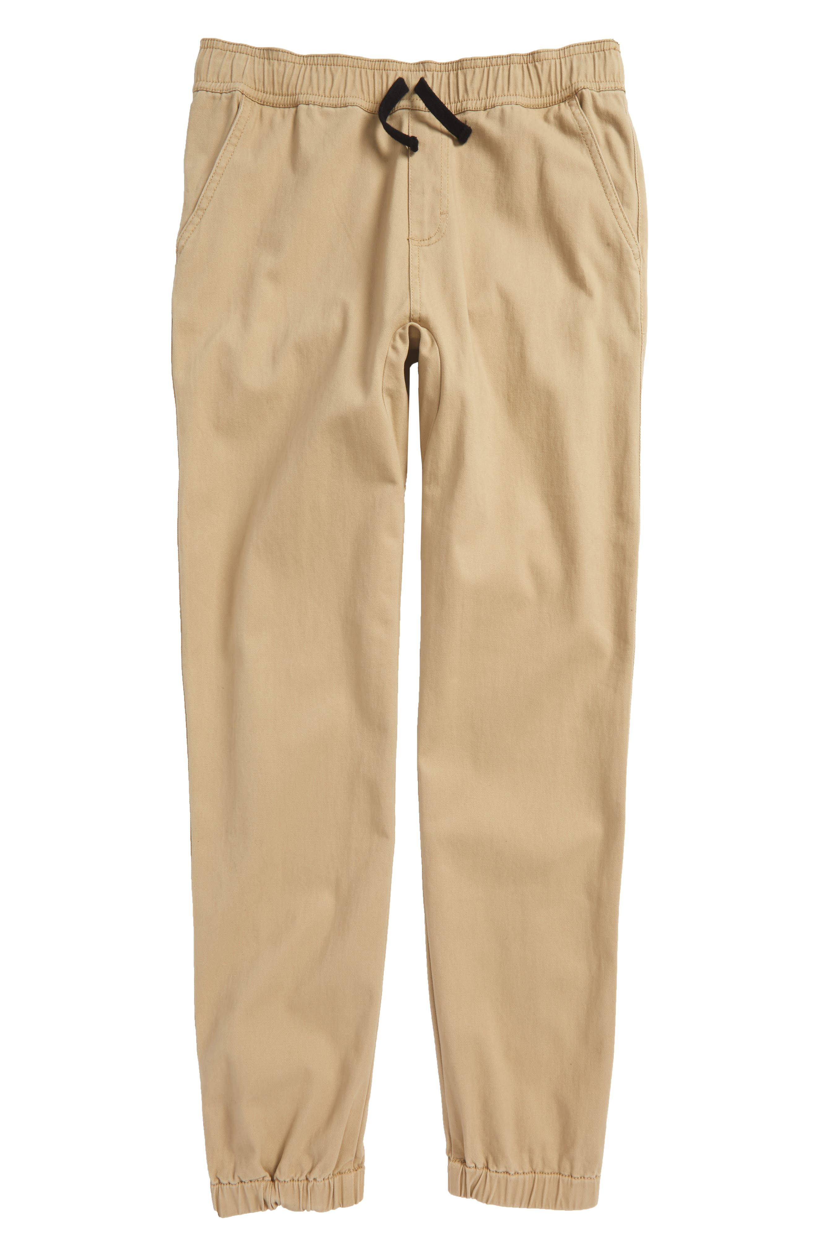 Woven Jogger Pants,                         Main,                         color, Tan Stock