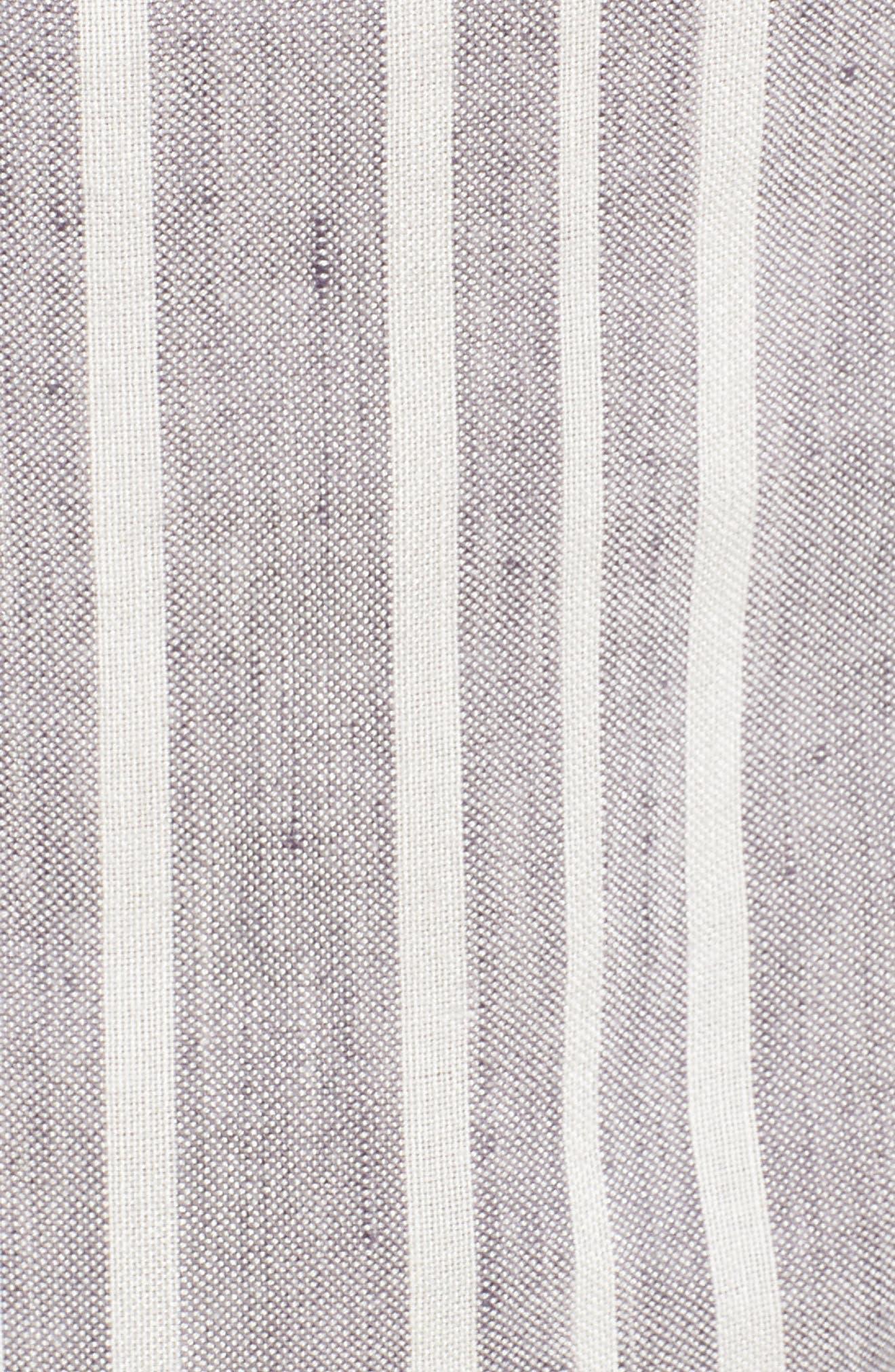 Brooklyn Crop Jumpsuit,                             Alternate thumbnail 5, color,                             Caldas Stripe