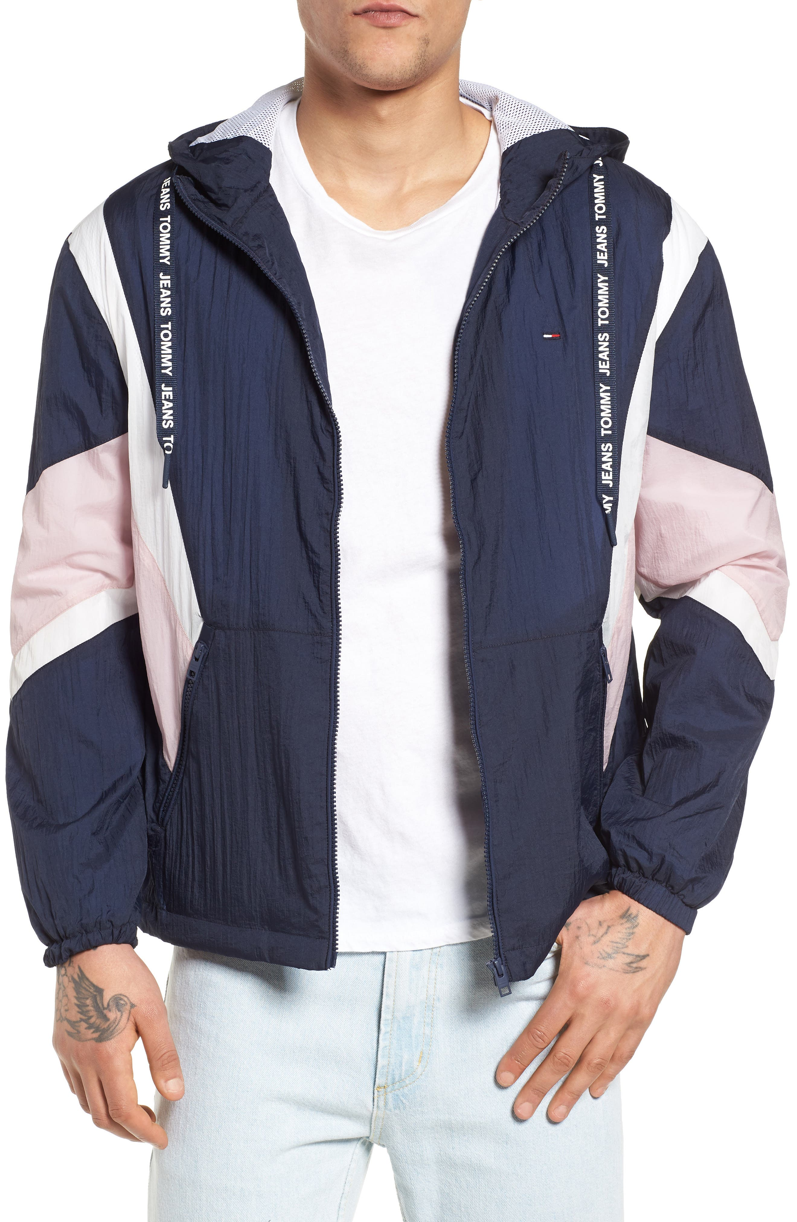 Drop Shoulder Athletic Jacket by Tommy Jeans
