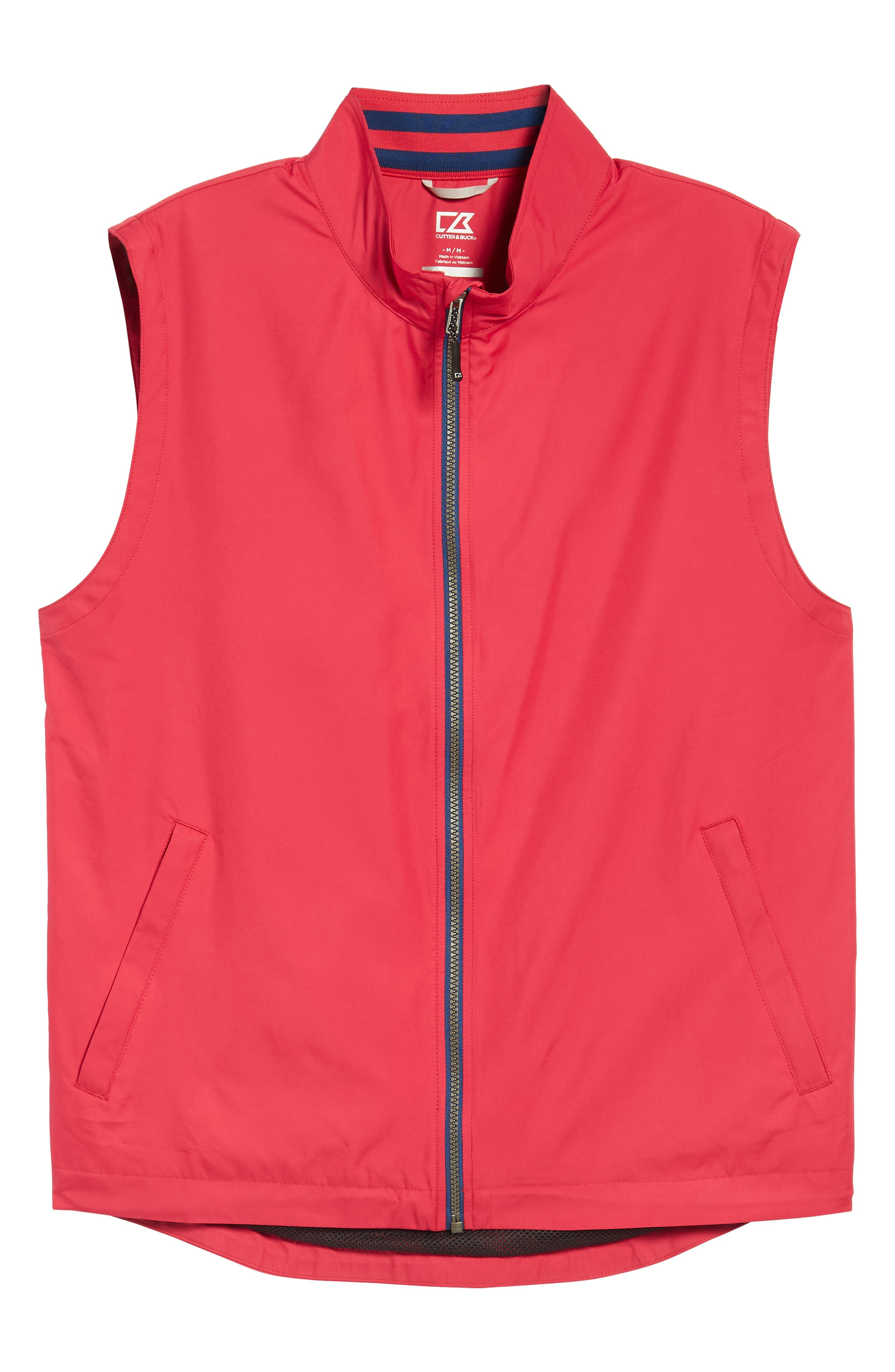 Nine Iron DryTec Zip Vest,                             Alternate thumbnail 6, color,                             Virtual