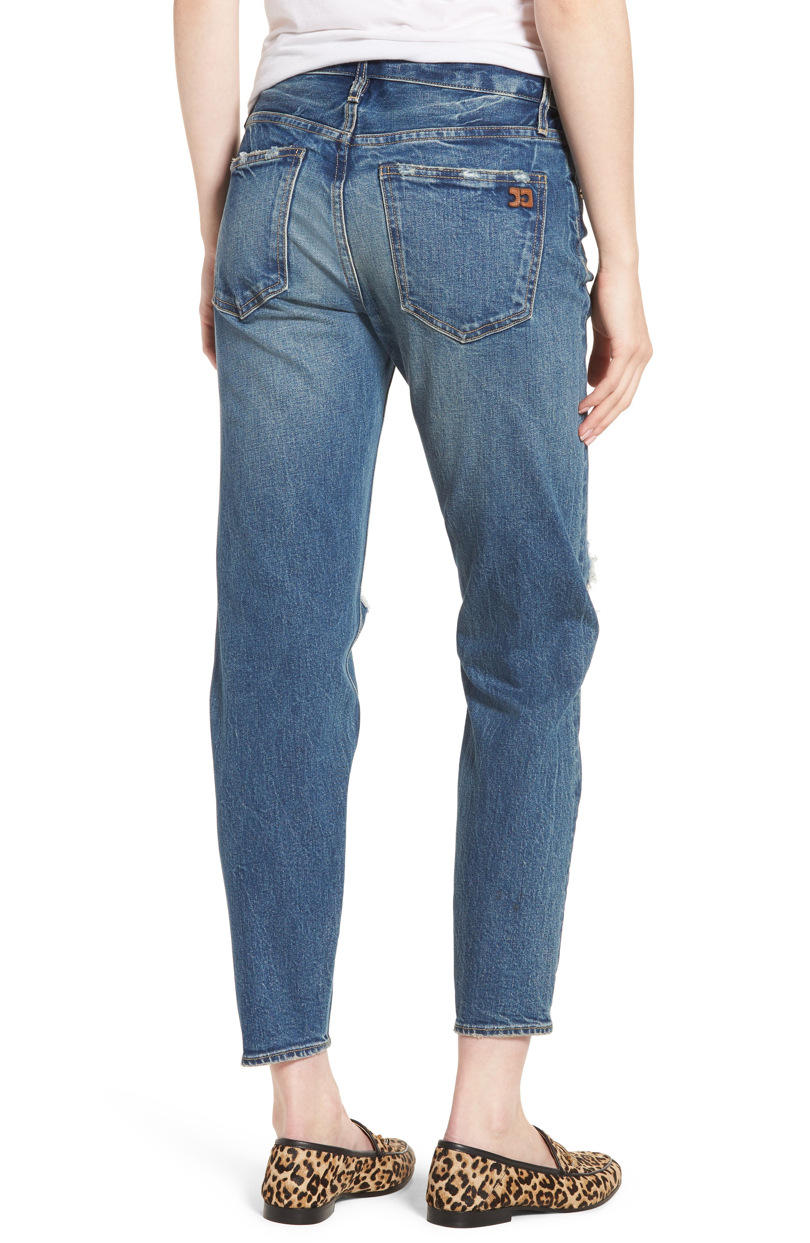Vintage Icon Ankle Skinny Jeans,                             Alternate thumbnail 2, color,                             Bailee
