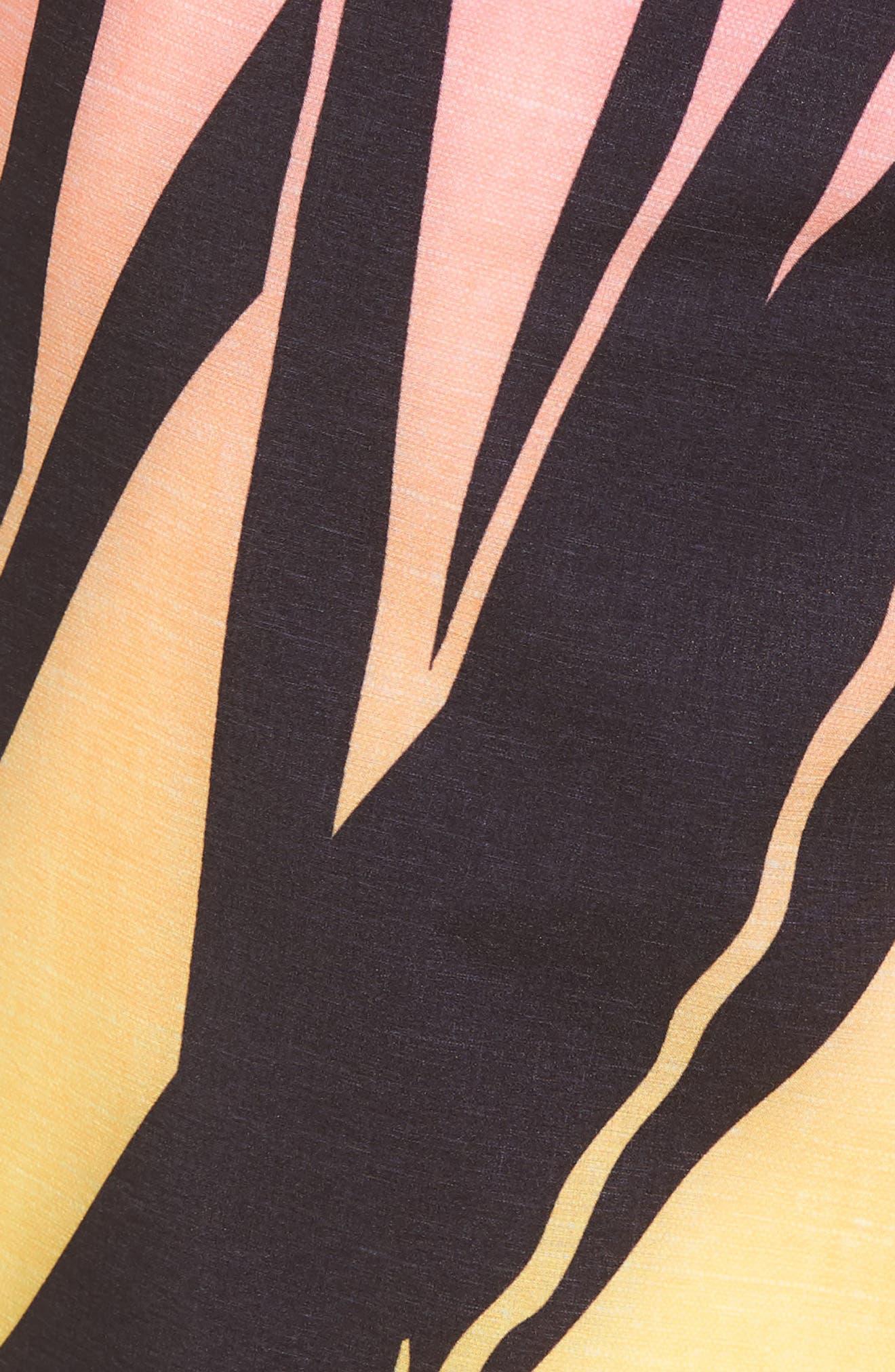 JJF IV Kahuliwae Board Shorts,                             Alternate thumbnail 5, color,                             Hyper Pink