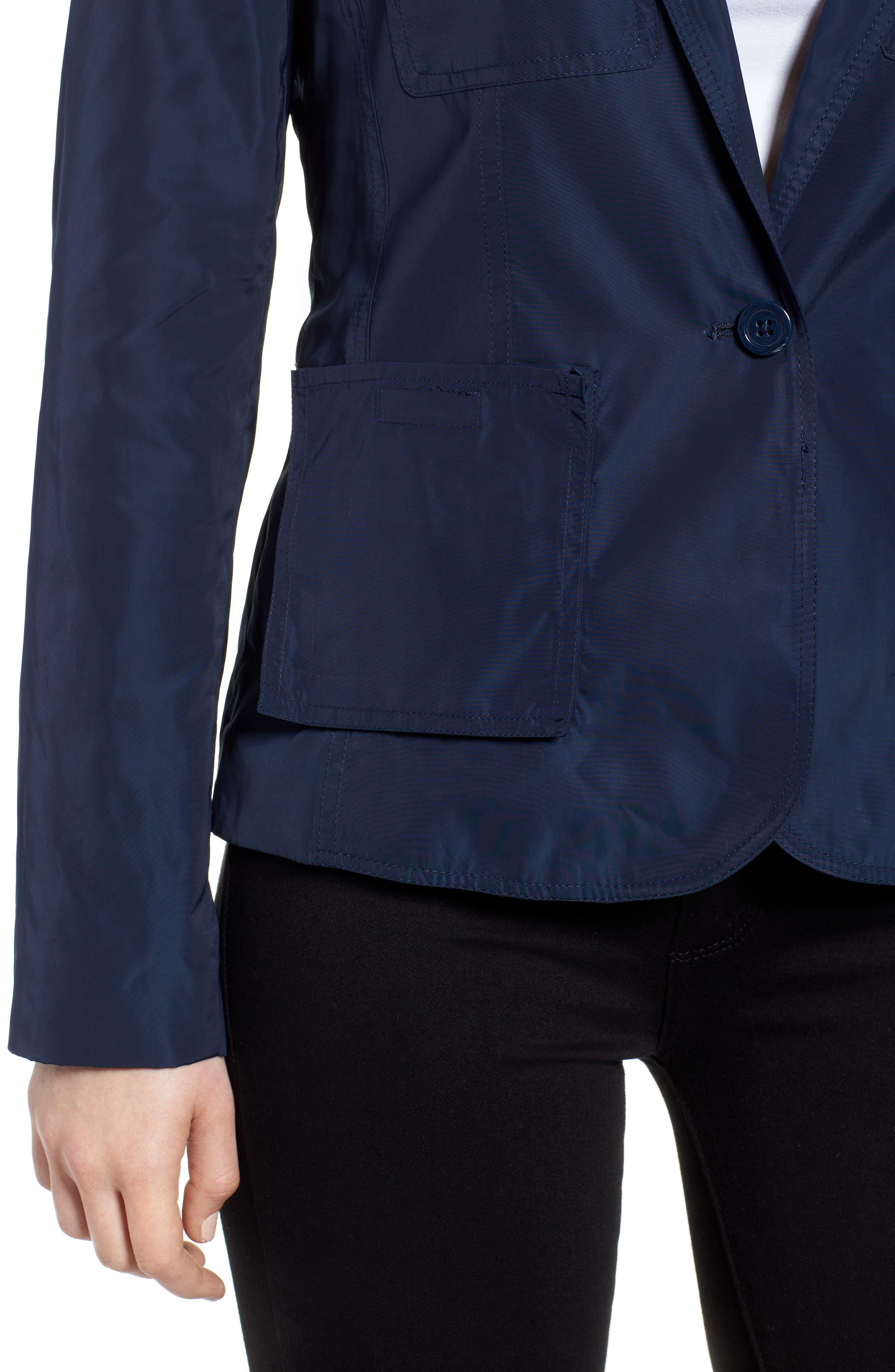 Two-Button Blazer,                             Alternate thumbnail 4, color,                             Indigo