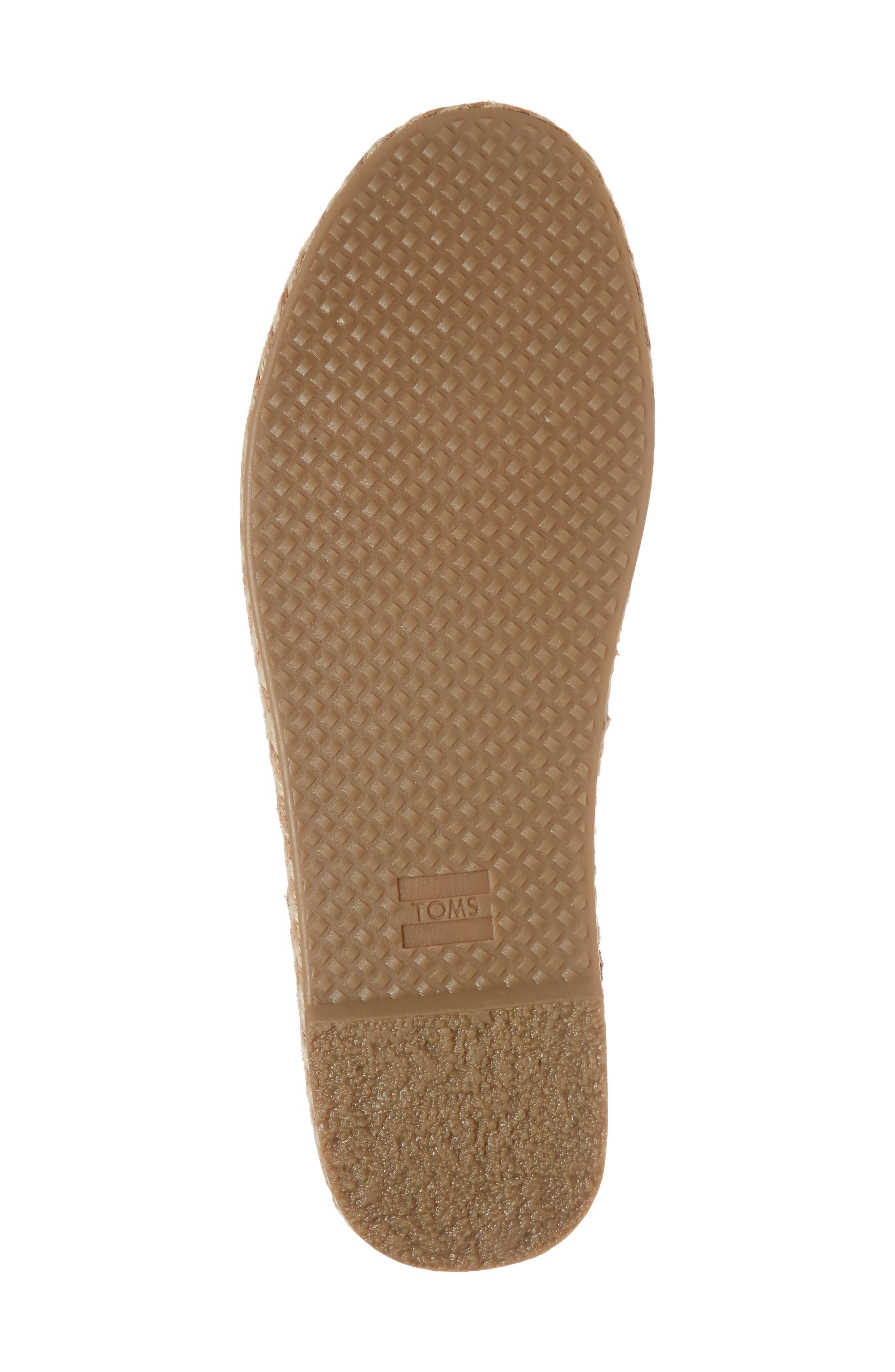 Katalina Espadrille,                             Alternate thumbnail 6, color,                             Toffee Suede