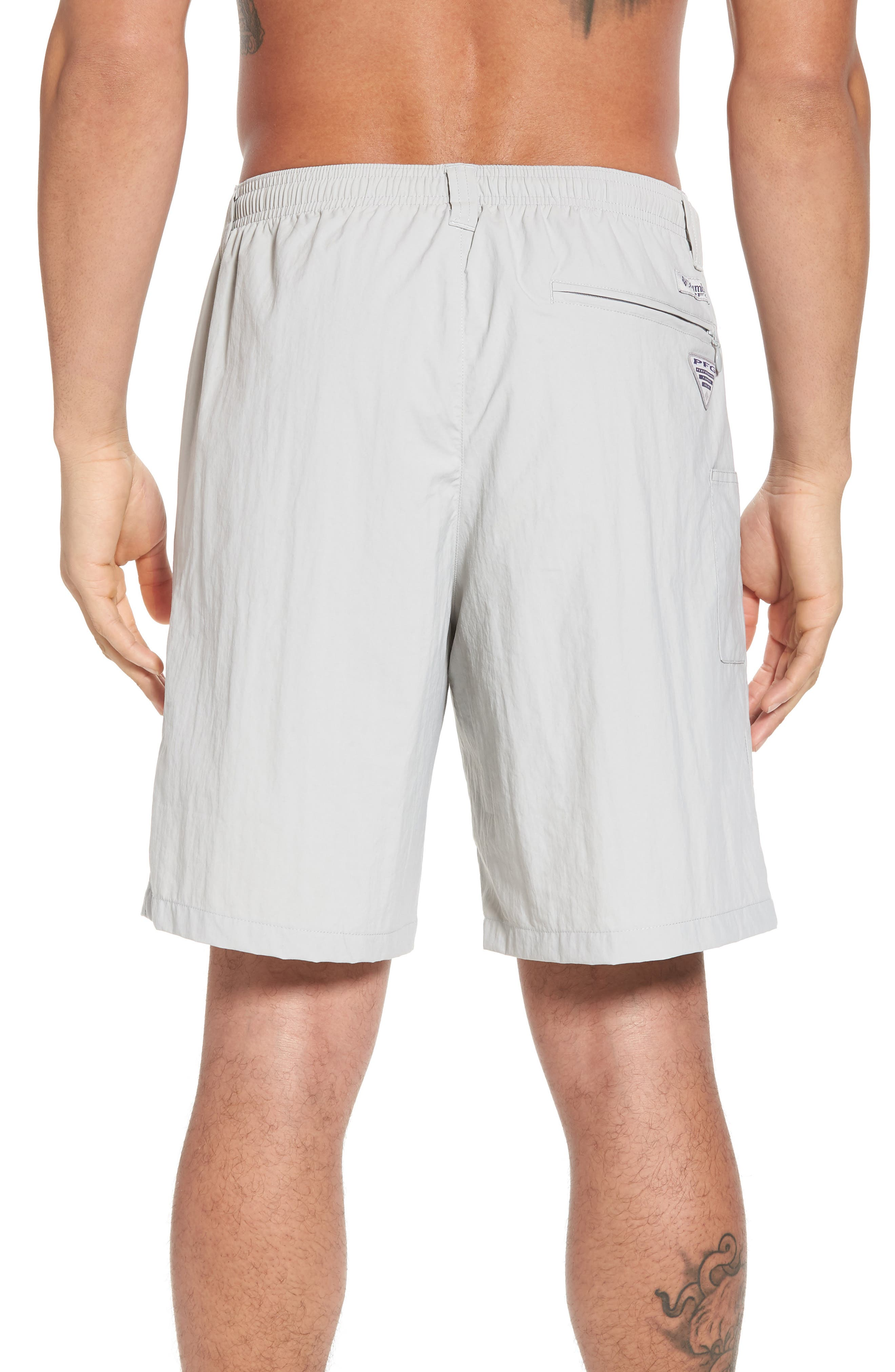 Backcast III Swim Trunks,                             Alternate thumbnail 2, color,                             Cool Grey