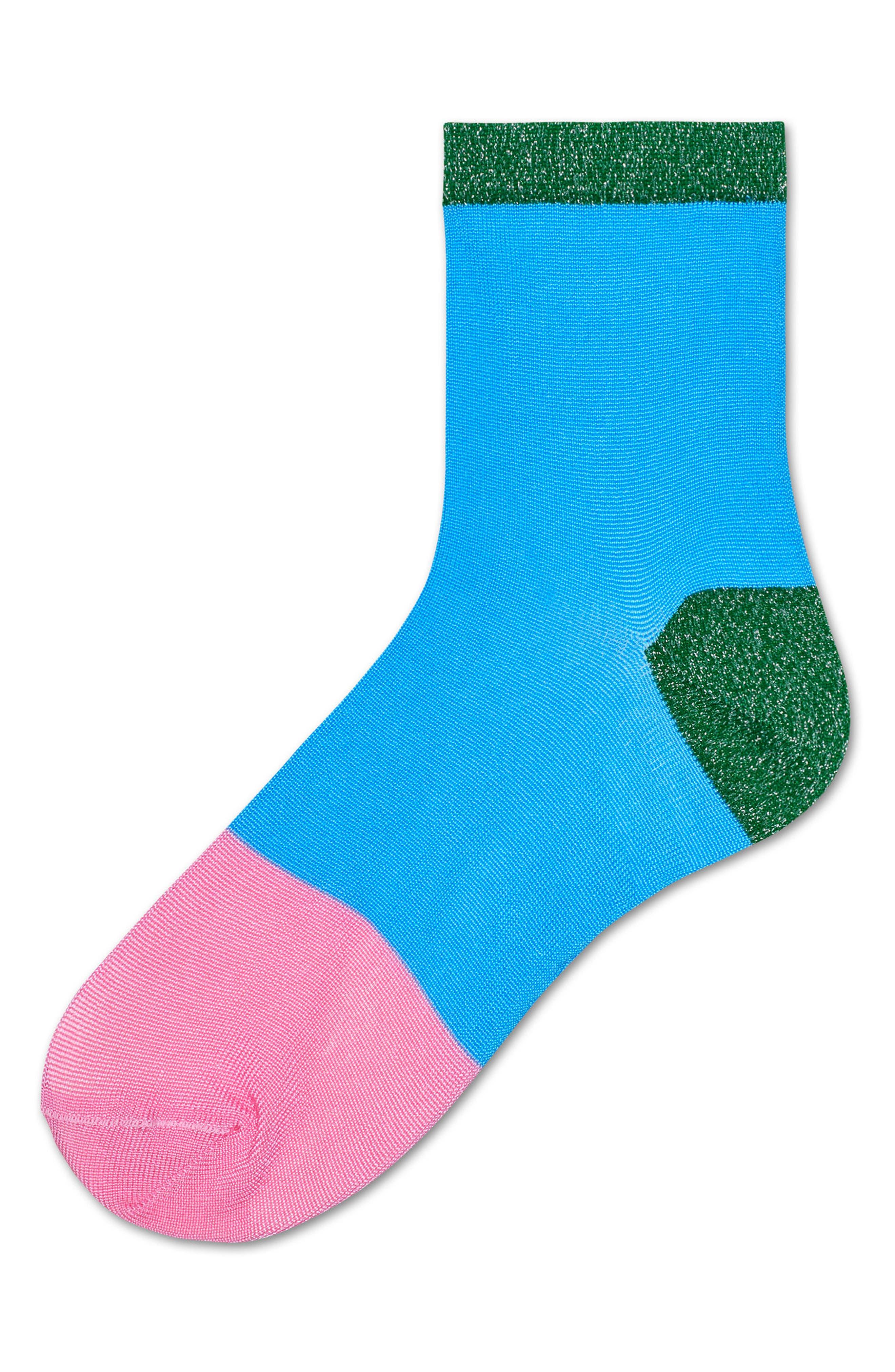 Alternate Image 3  - Hysteria by Happy Socks Liza Sparkle Ankle Socks