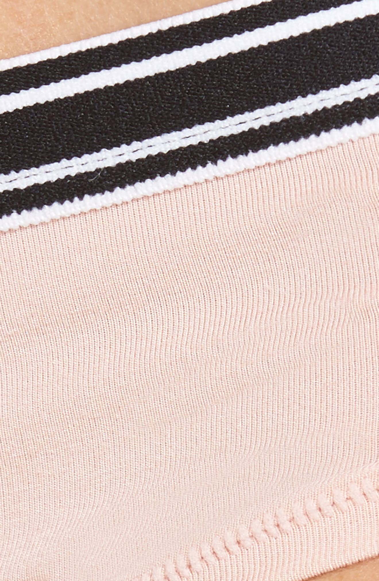 Hipster Briefs,                             Alternate thumbnail 9, color,                             Pink Silver