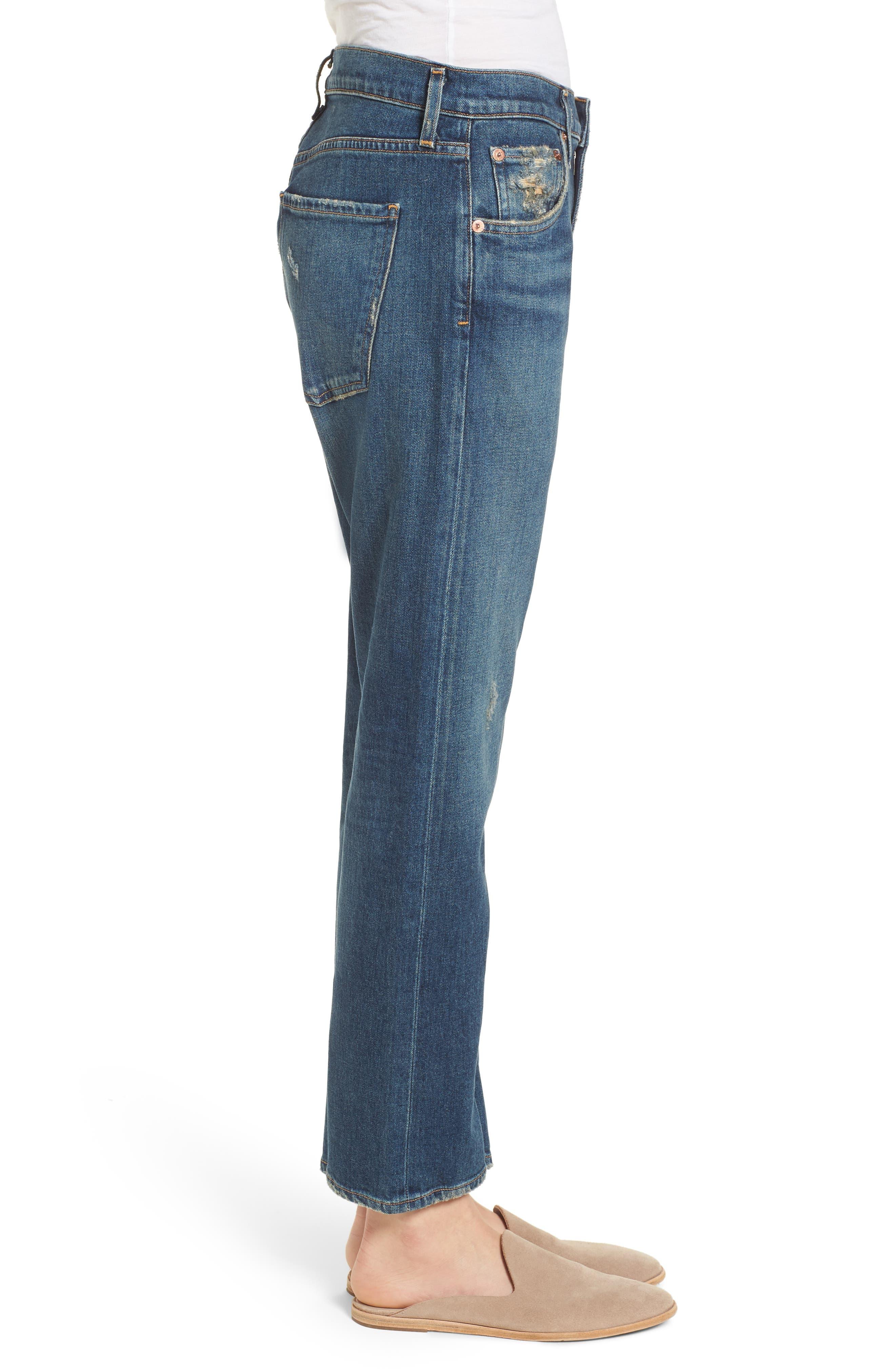 Isabel Ankle Slim Boyfriend Jeans,                             Alternate thumbnail 3, color,                             Sanctuary