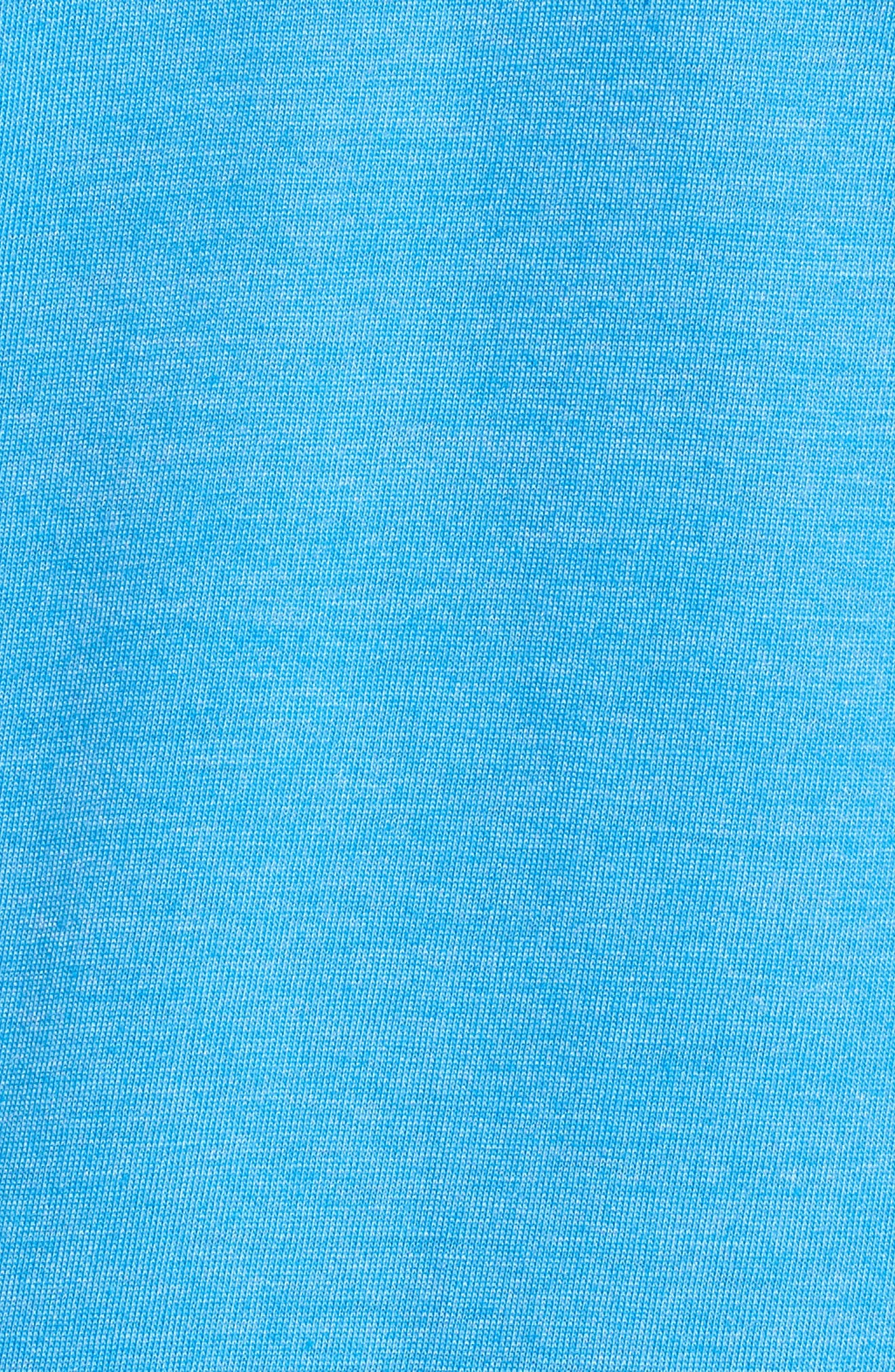 One & Only Gradient T-Shirt,                             Alternate thumbnail 5, color,                             Light Photo Blue Heather