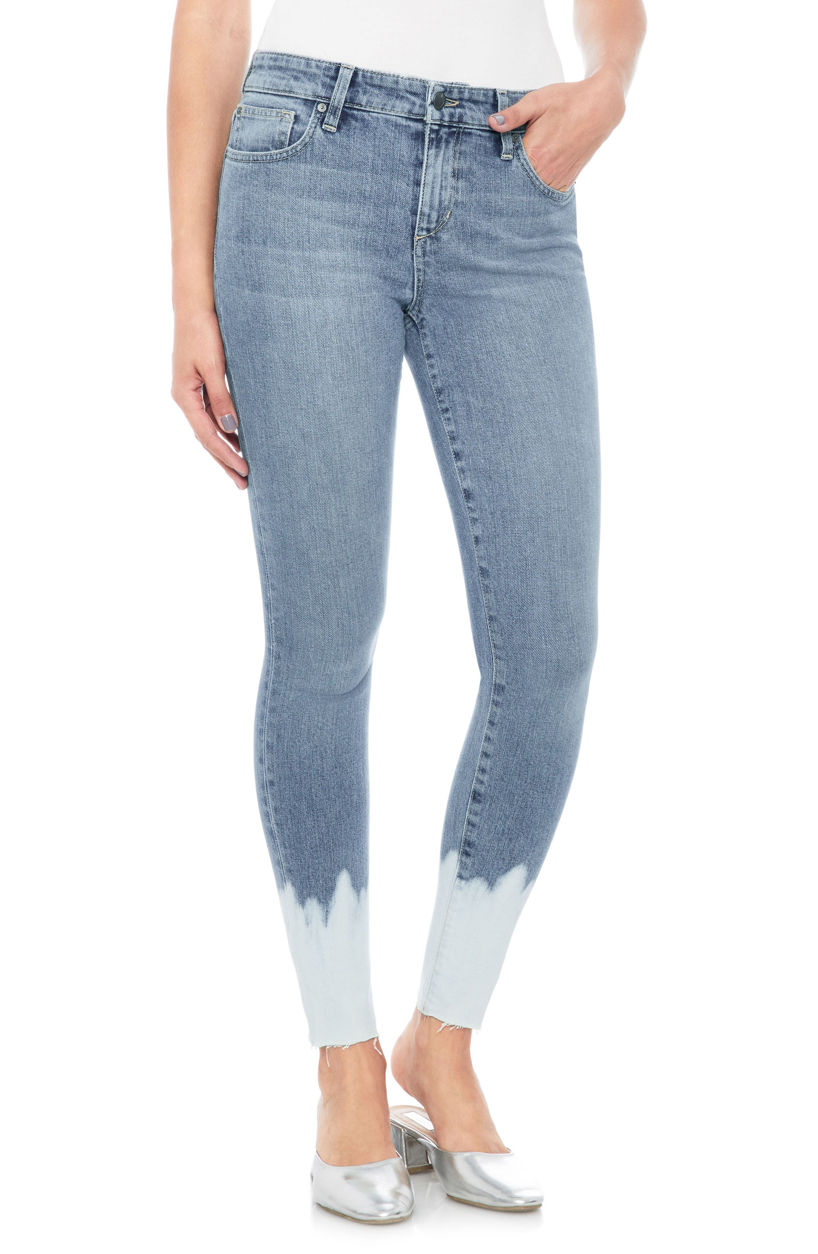 Vintage Icon Skinny Jeans,                         Main,                         color, Sigourney