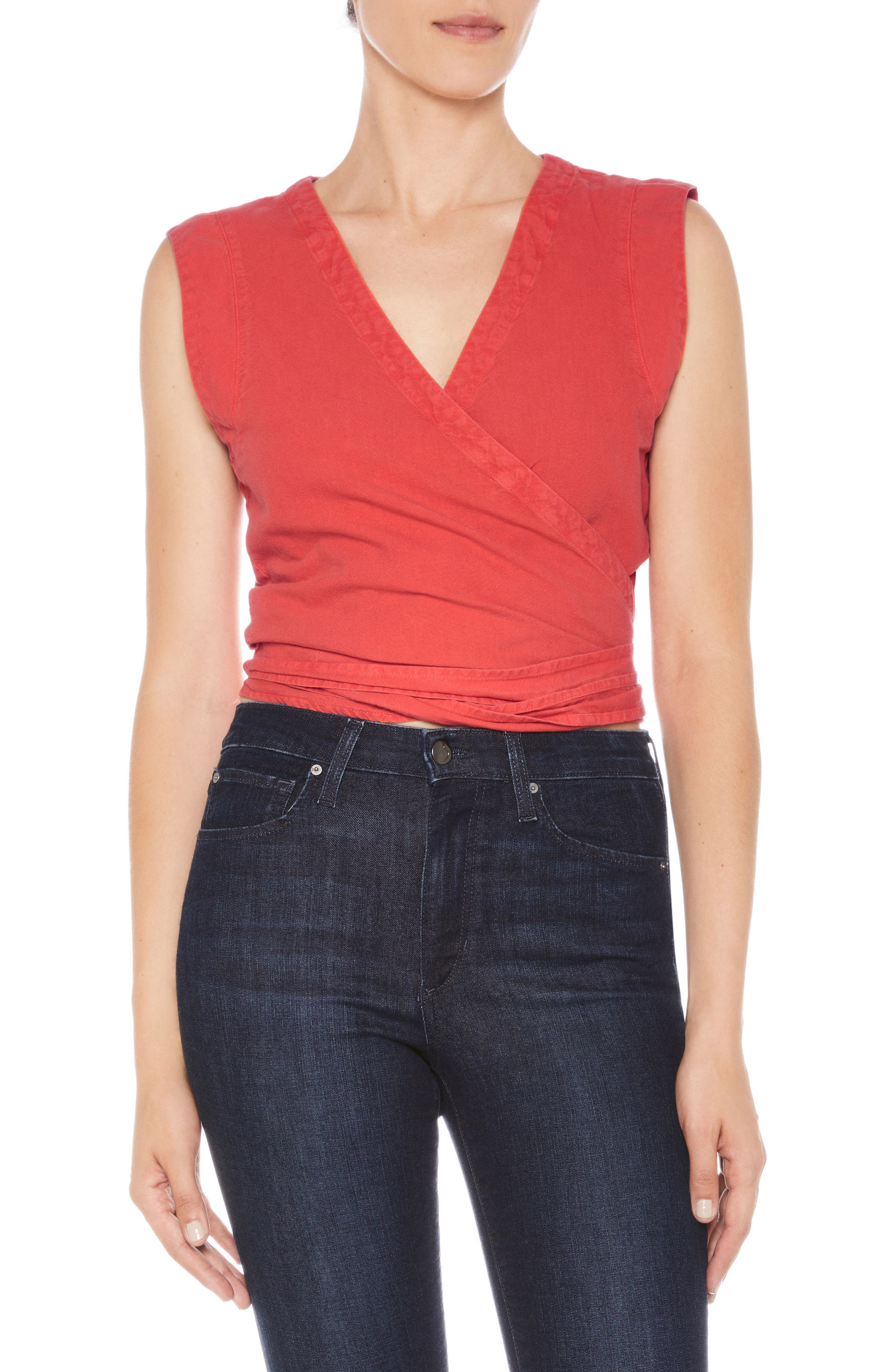 Joe's Luliana Crop Wrap Top
