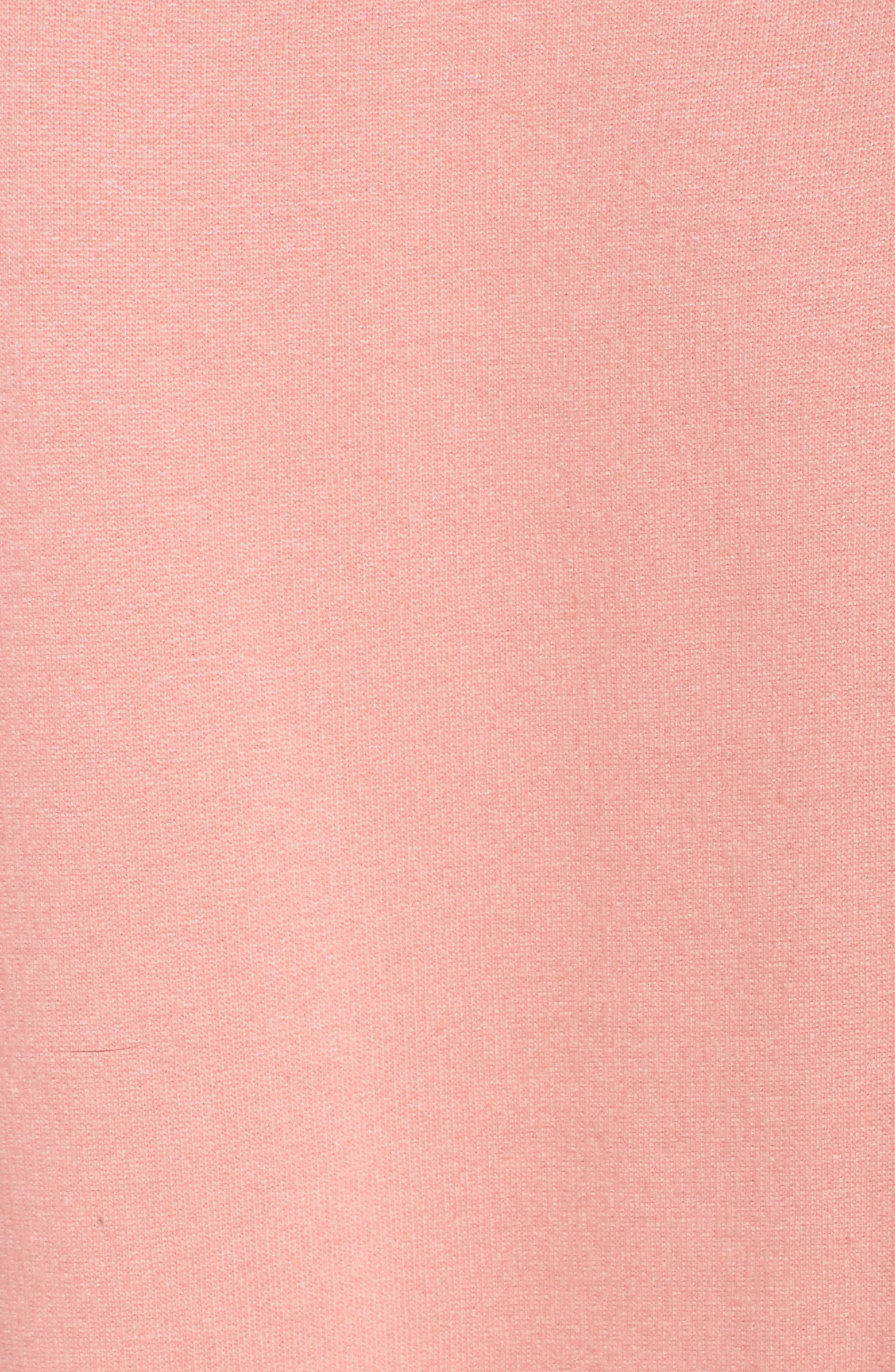 Blonde Crewneck Sweatshirt,                             Alternate thumbnail 6, color,                             Dusty Rose