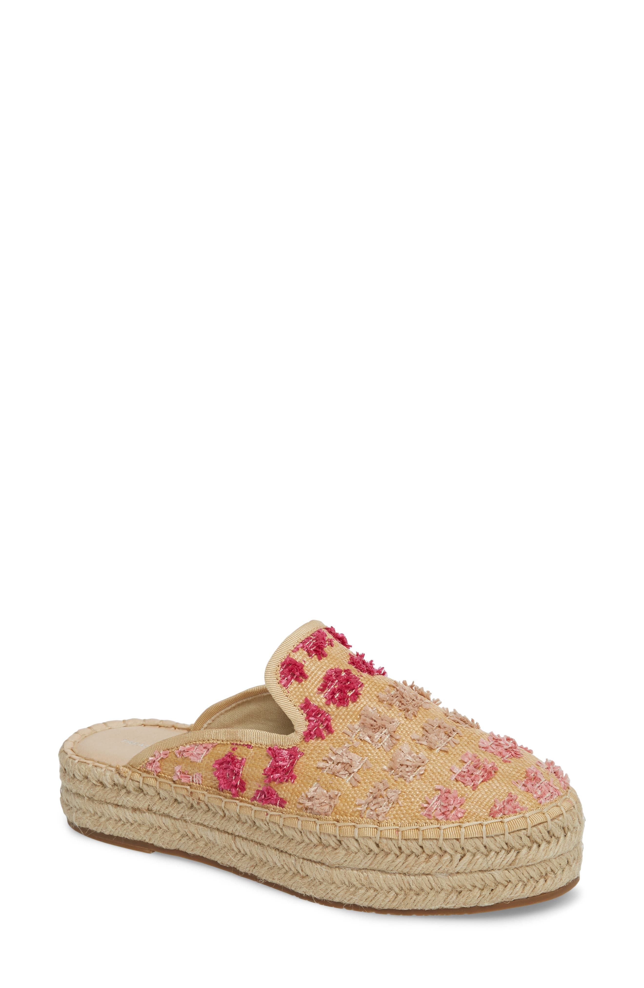 Treasure & Bond Marlowe Tufted Espadrille Loafer Mule (Women)