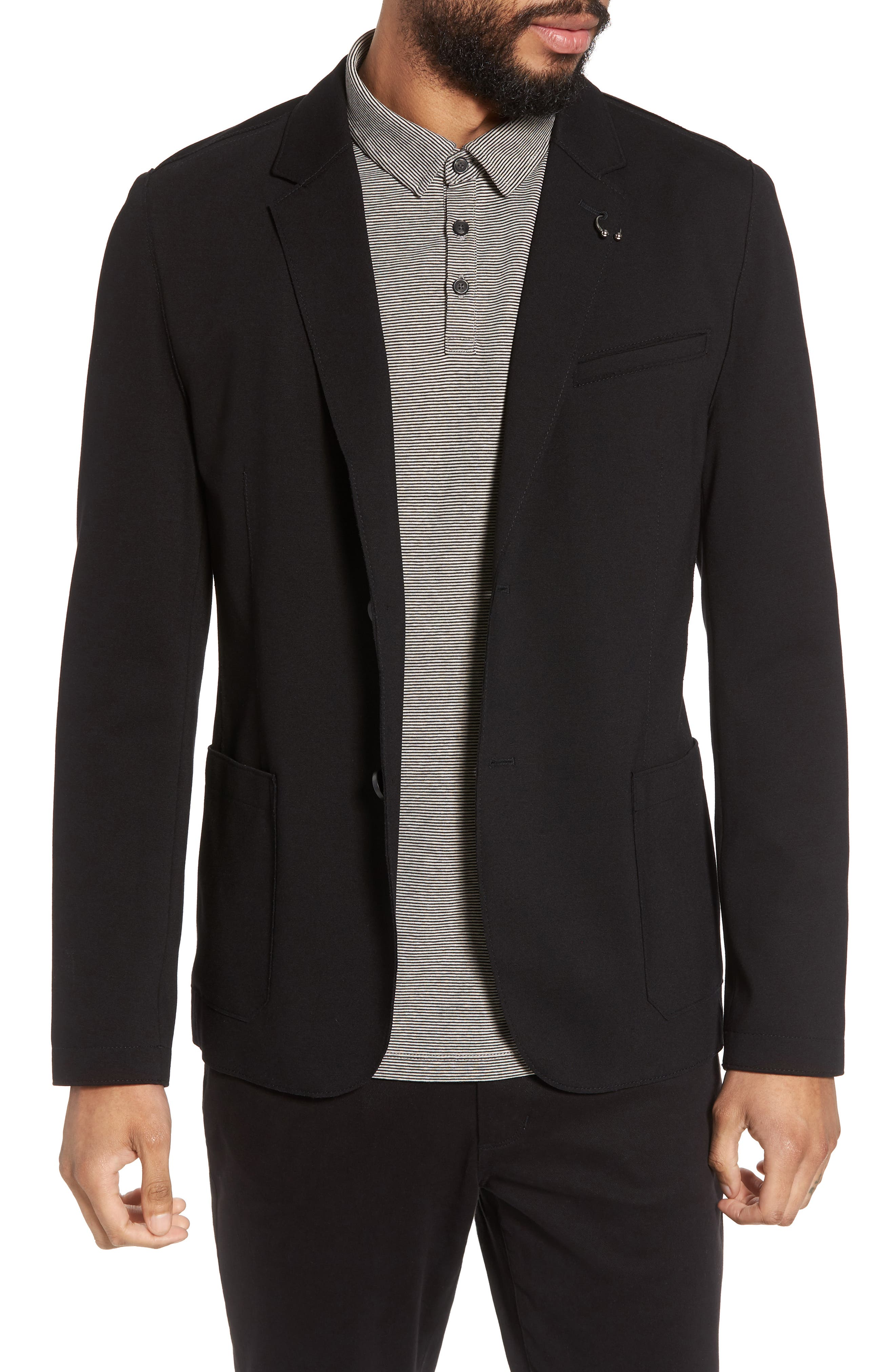 HUGO Ardis Slim Fit Stretch Blazer