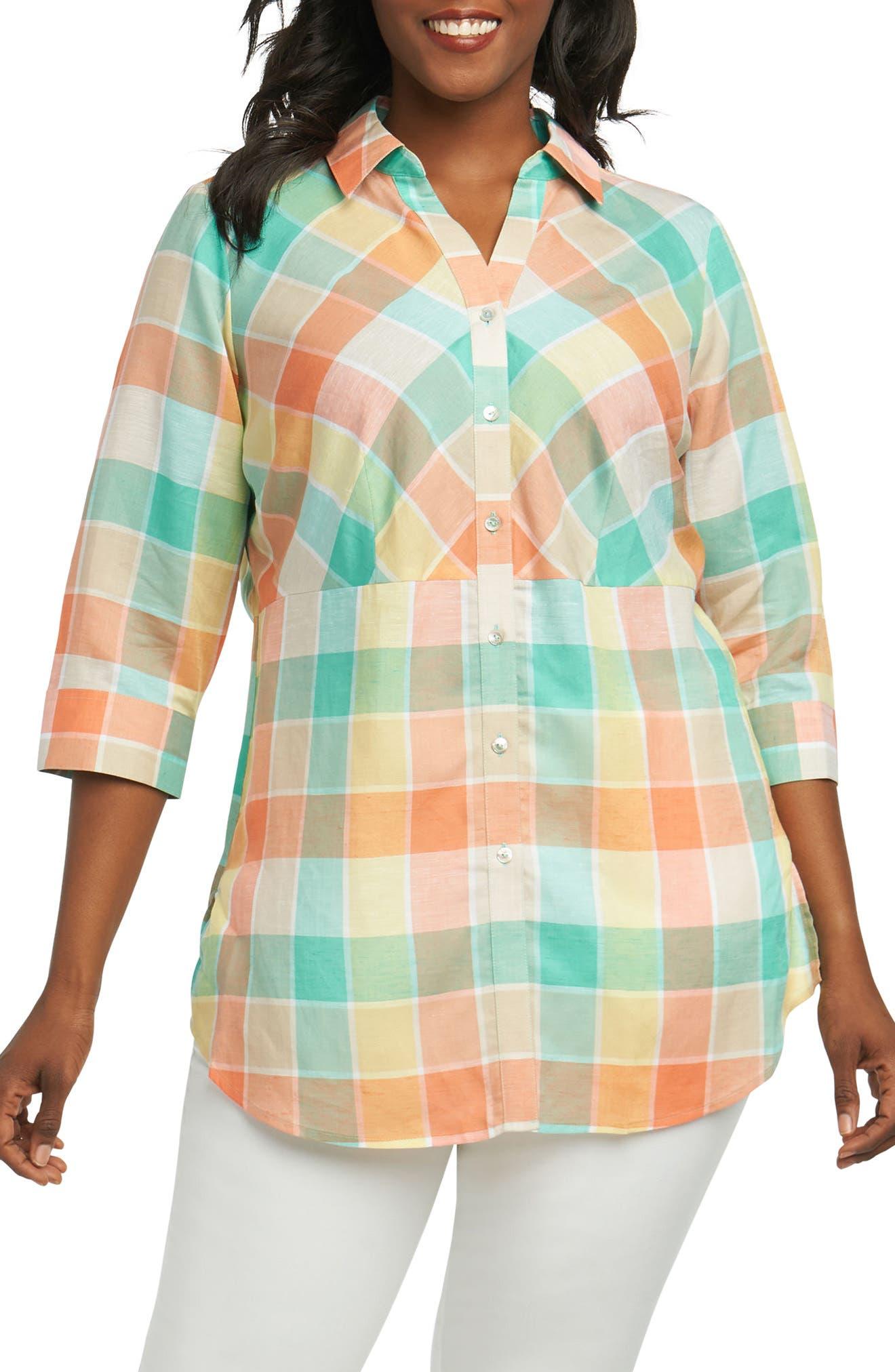 Perry Buffalo Check Shirt,                         Main,                         color, Multi