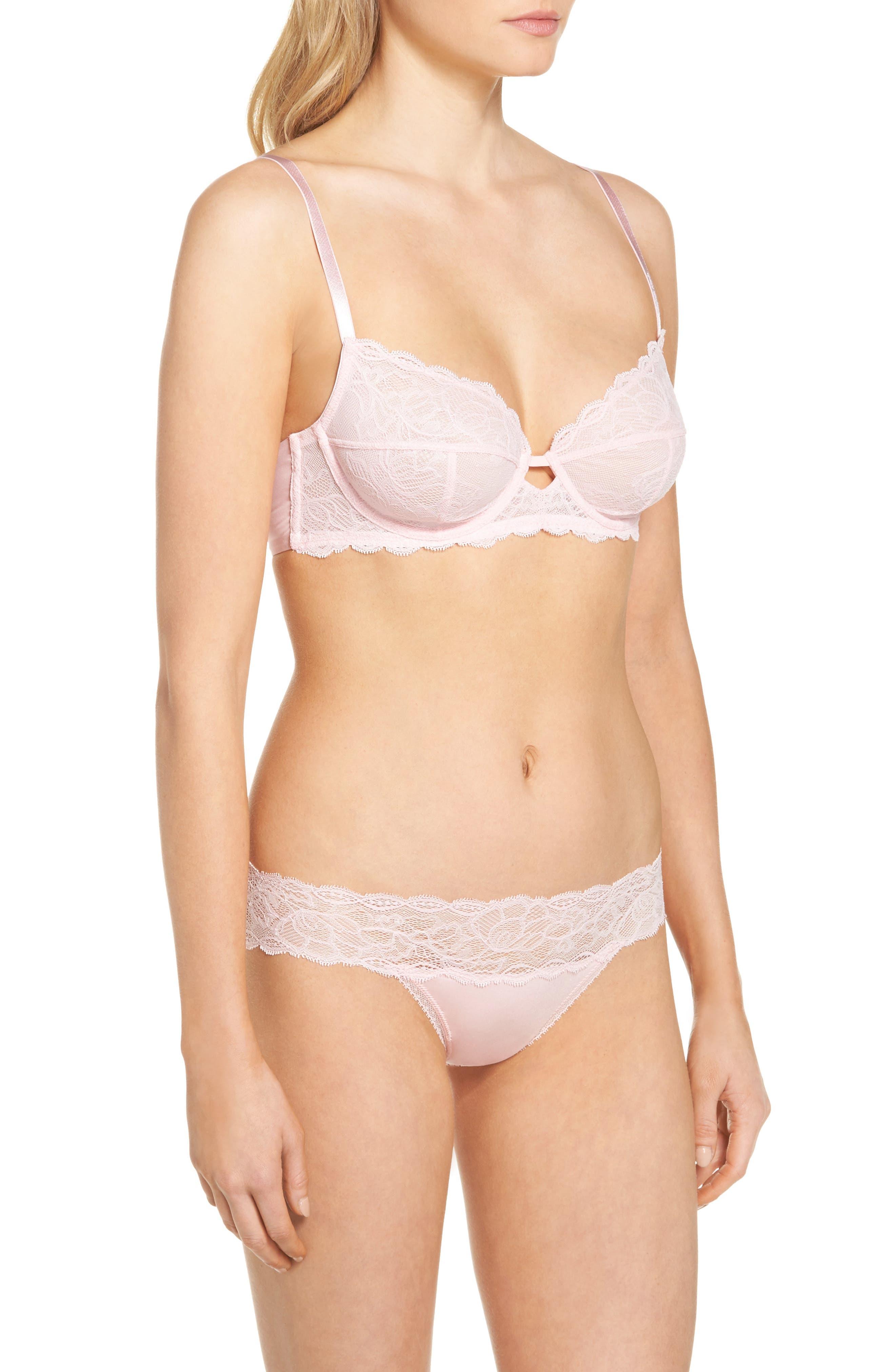 Seductive Comfort Lace Bikini,                             Alternate thumbnail 8, color,                             Attract