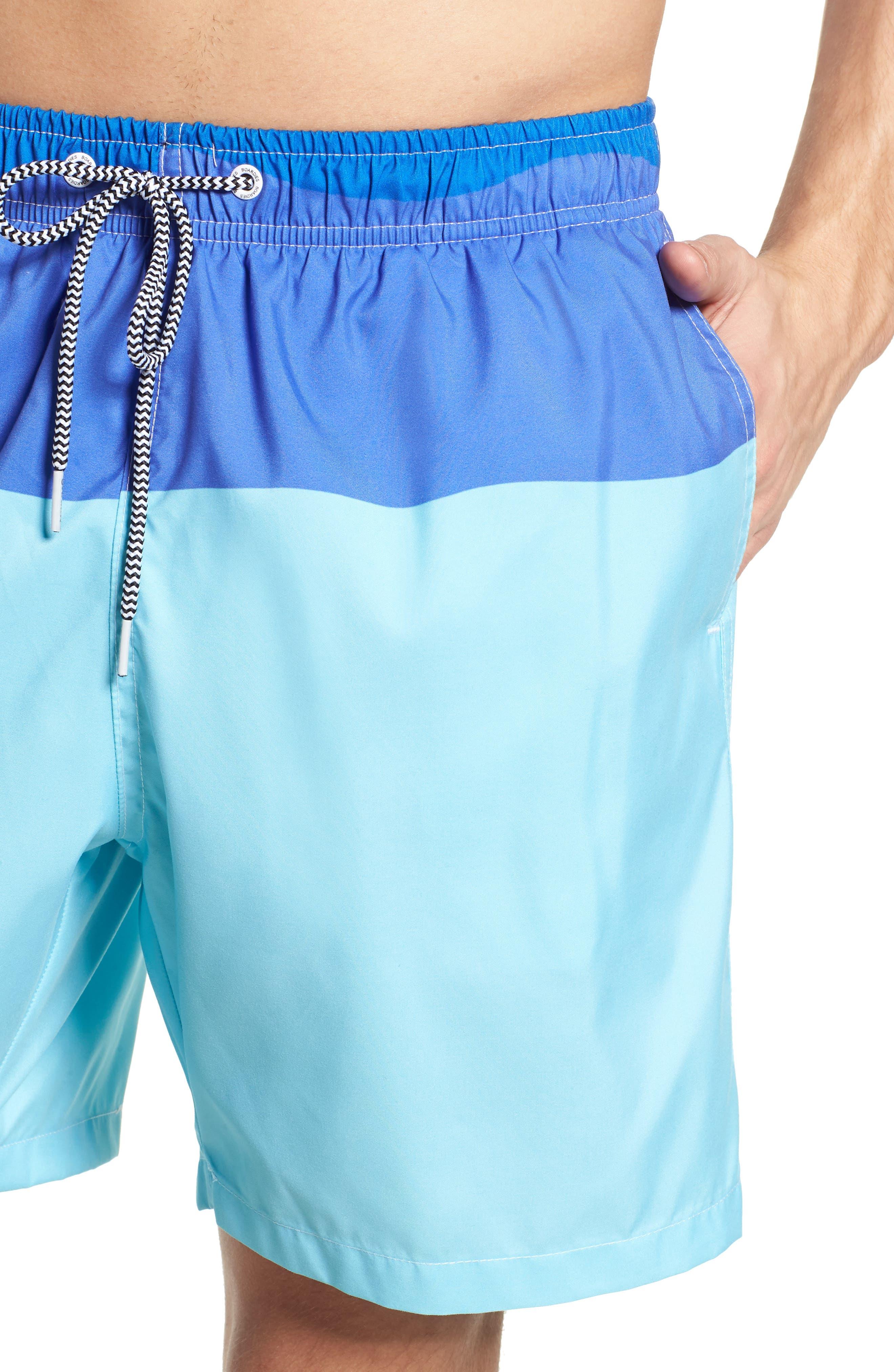 Swim Trunks,                             Alternate thumbnail 4, color,                             Blue