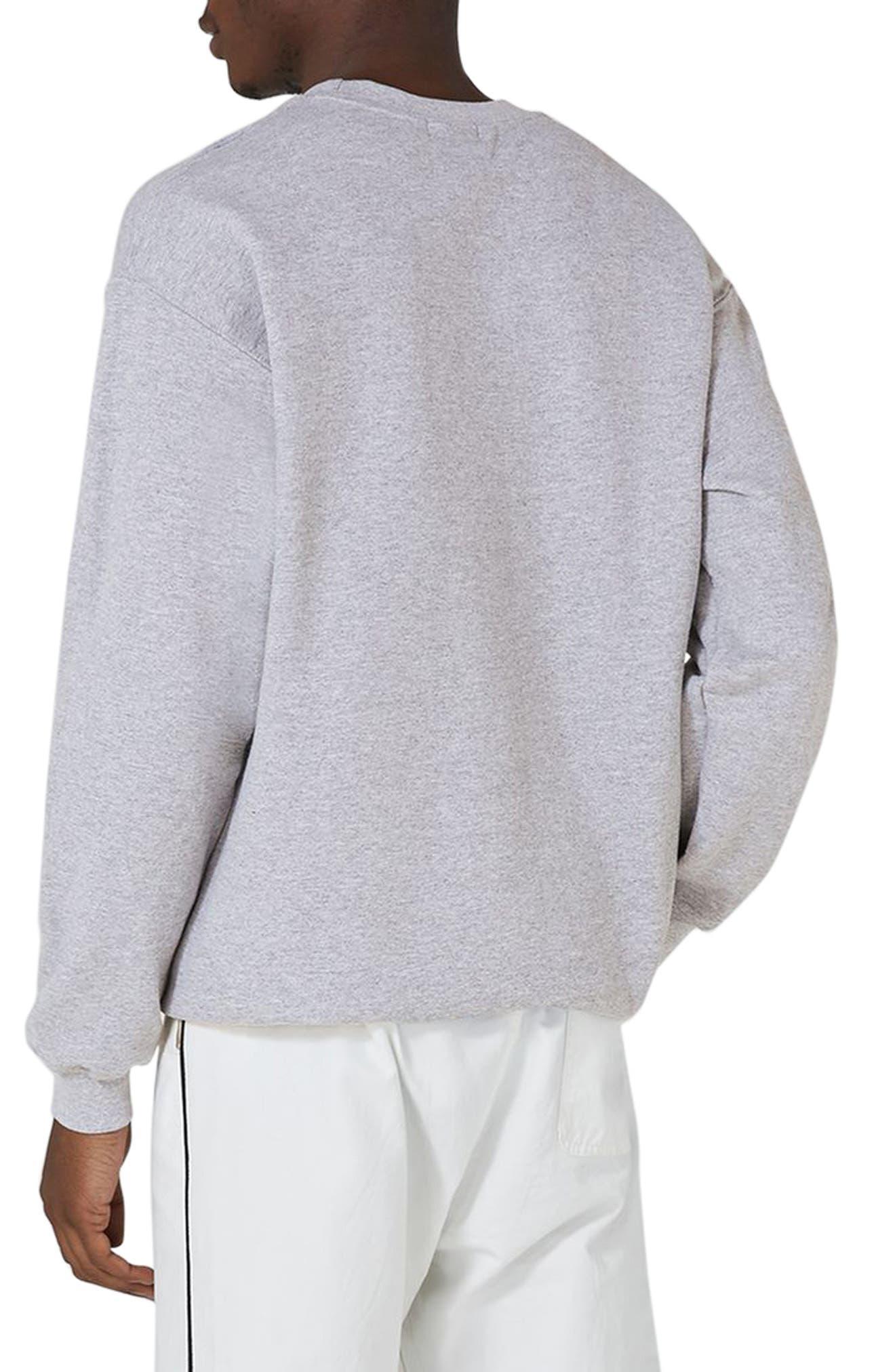 Lost Souls Graphic Sweatshirt,                             Alternate thumbnail 2, color,                             Light Grey