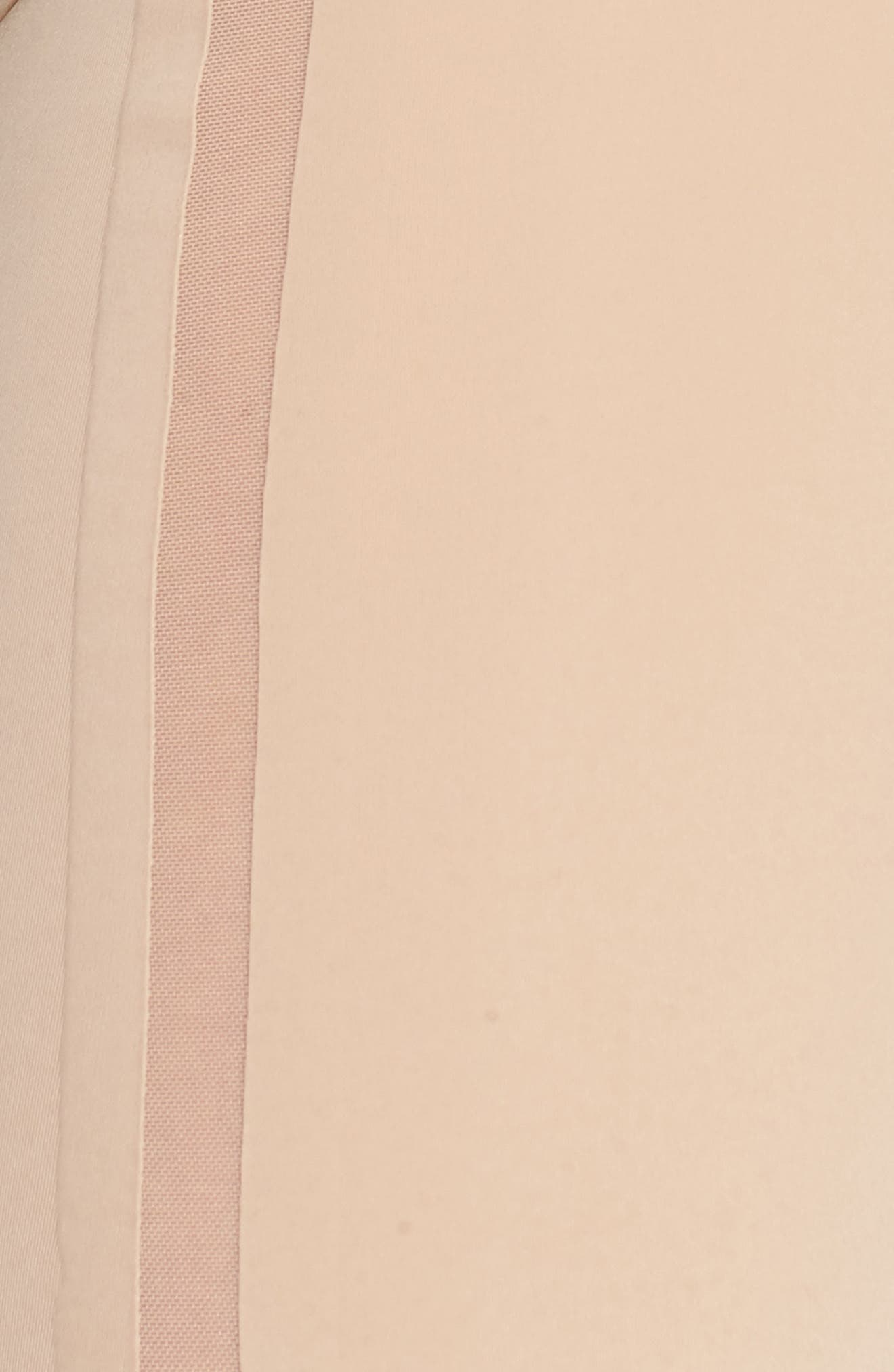 Sculpted Shapewear Thigh Shaper,                             Alternate thumbnail 6, color,                             Bare