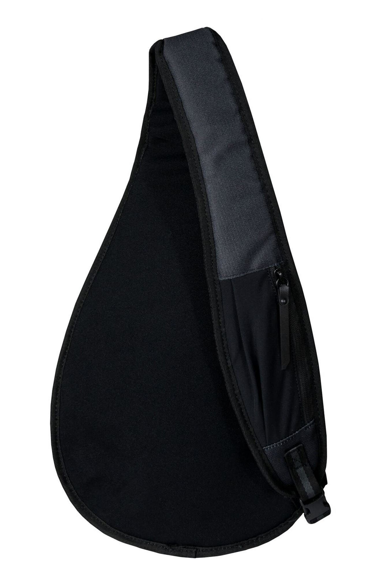 Esprit RFID Sling Backpack,                             Alternate thumbnail 3, color,                             Raven