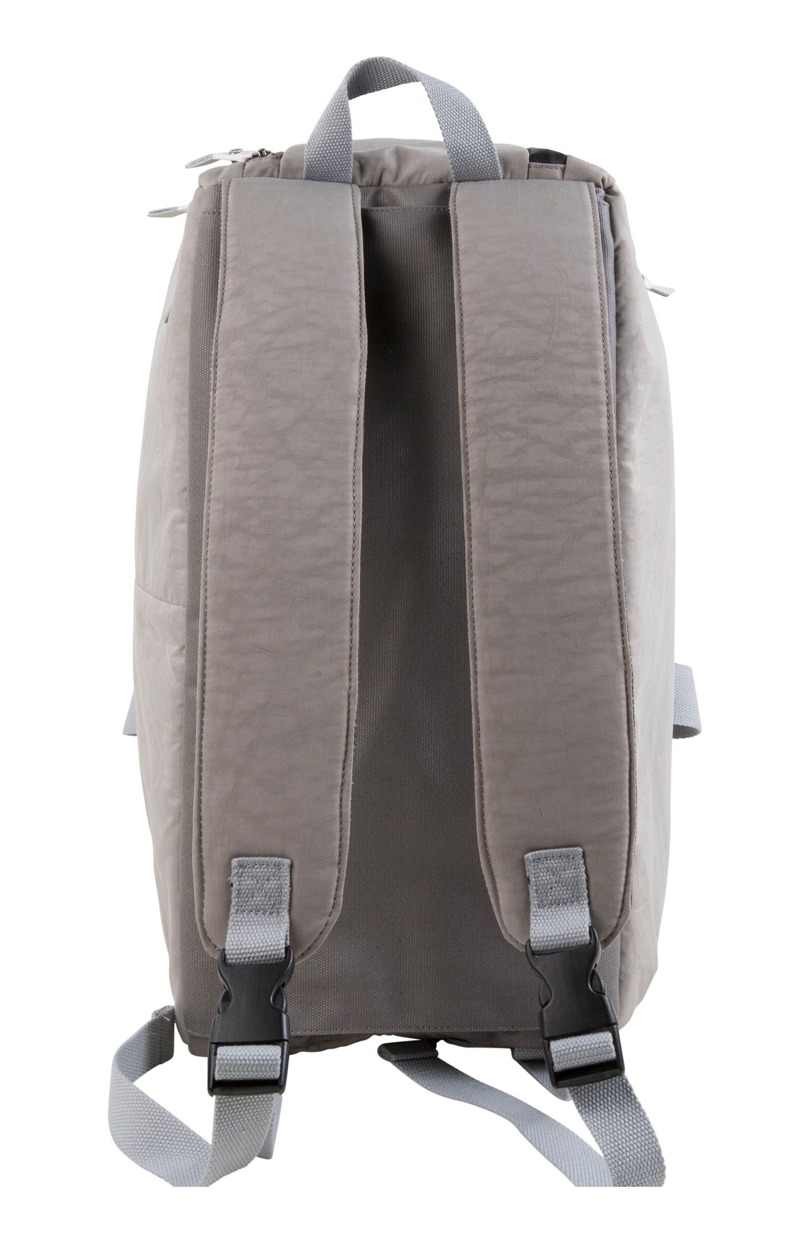 Calibre Convertible Duffel Bag,                             Alternate thumbnail 6, color,                             Strata Grey