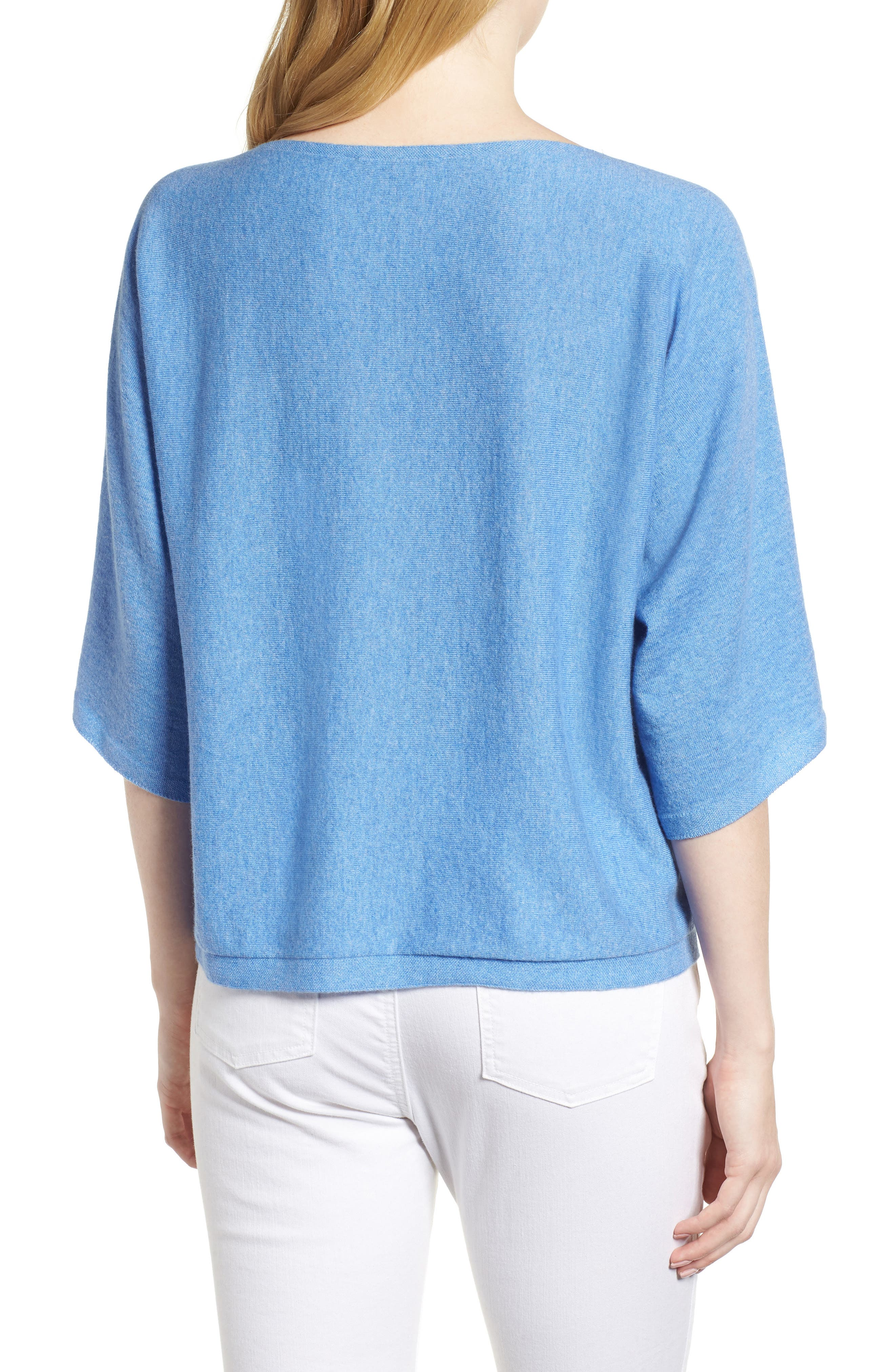 Alternate Image 2  - Eileen Fisher Cashmere Sweater