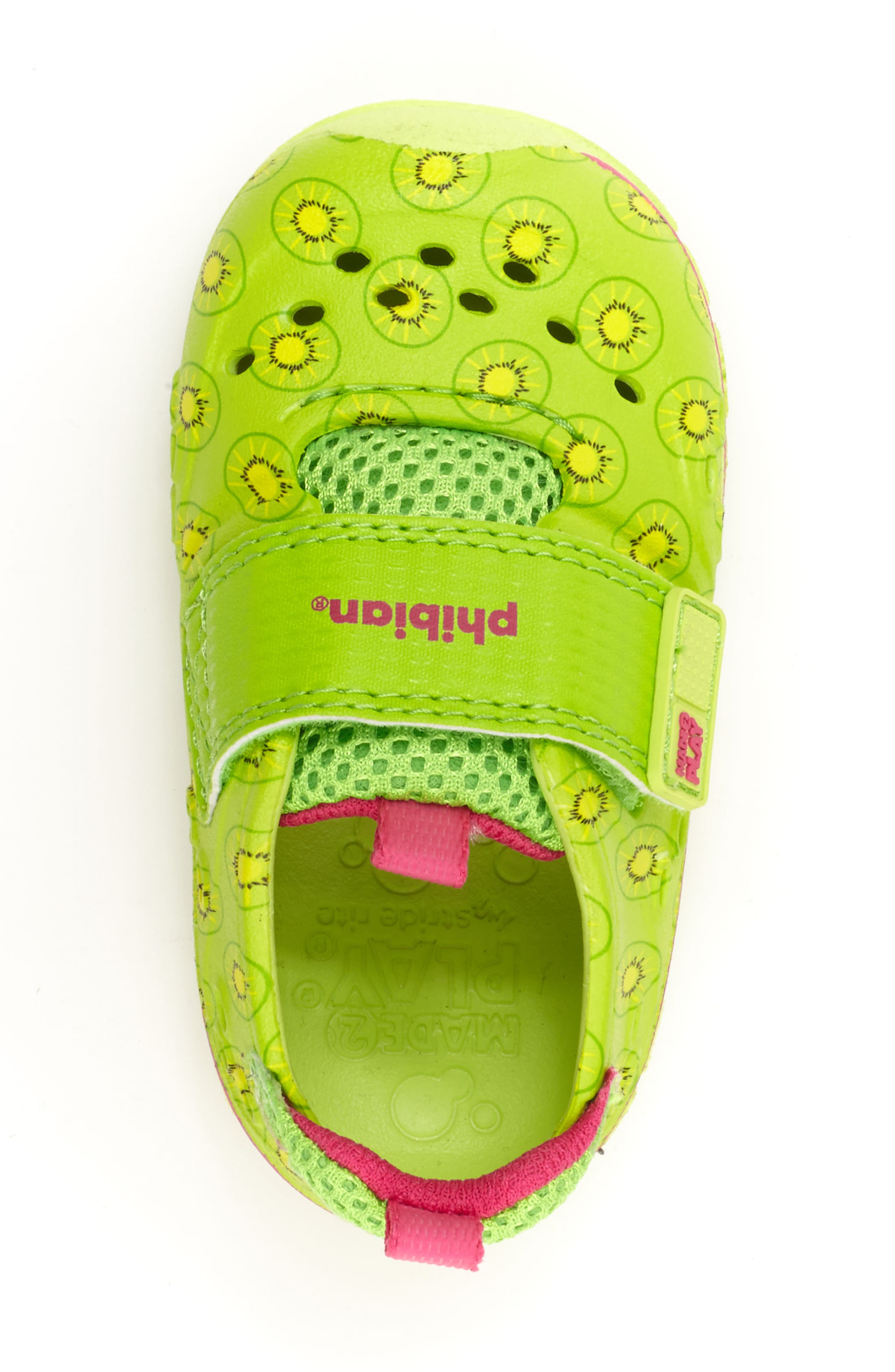 Made2Play<sup>®</sup> Phibian Sneaker,                             Alternate thumbnail 4, color,                             Green Kiwi