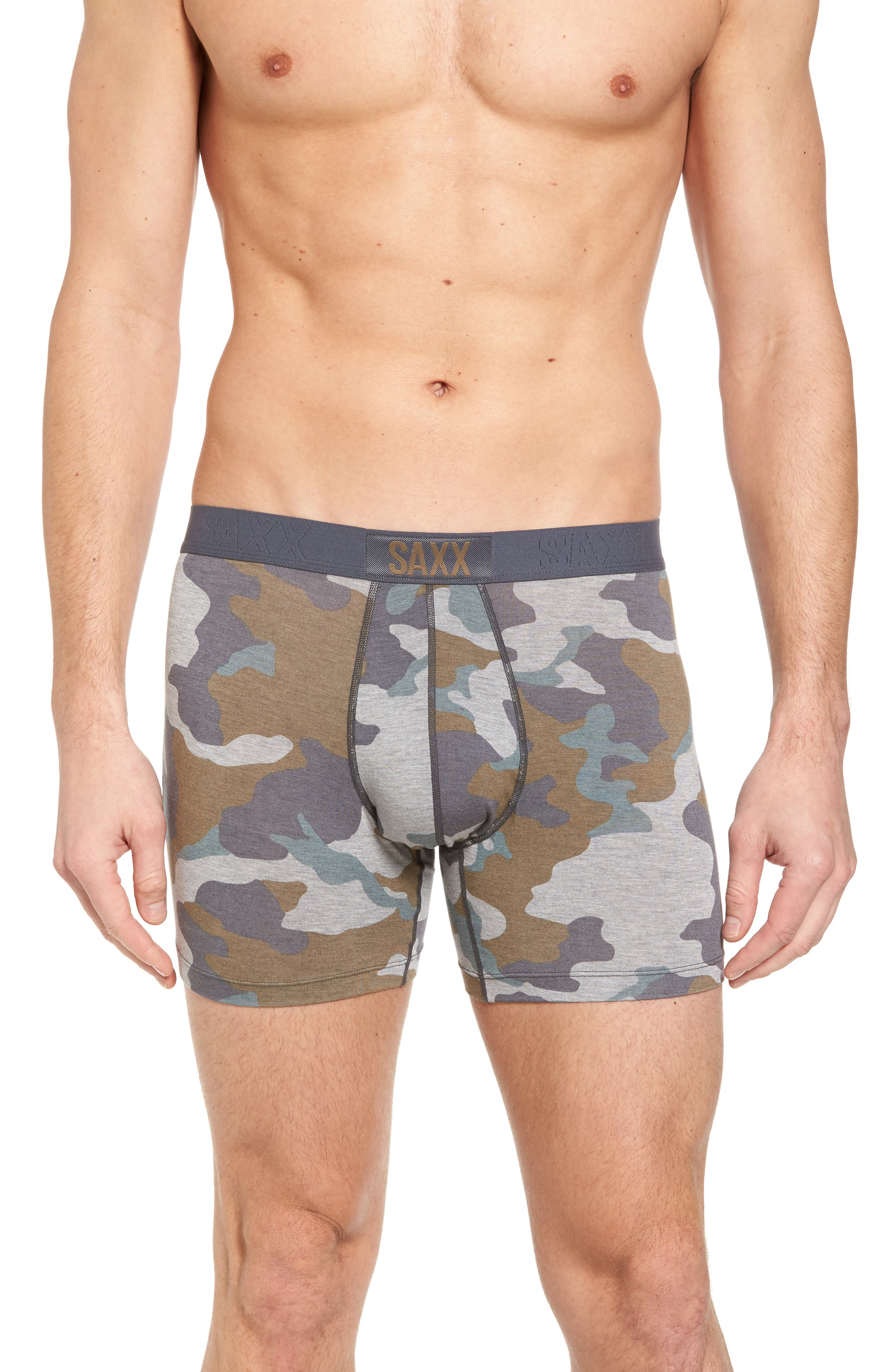Vibe Boxer Briefs,                         Main,                         color, Grey Supersize Camo