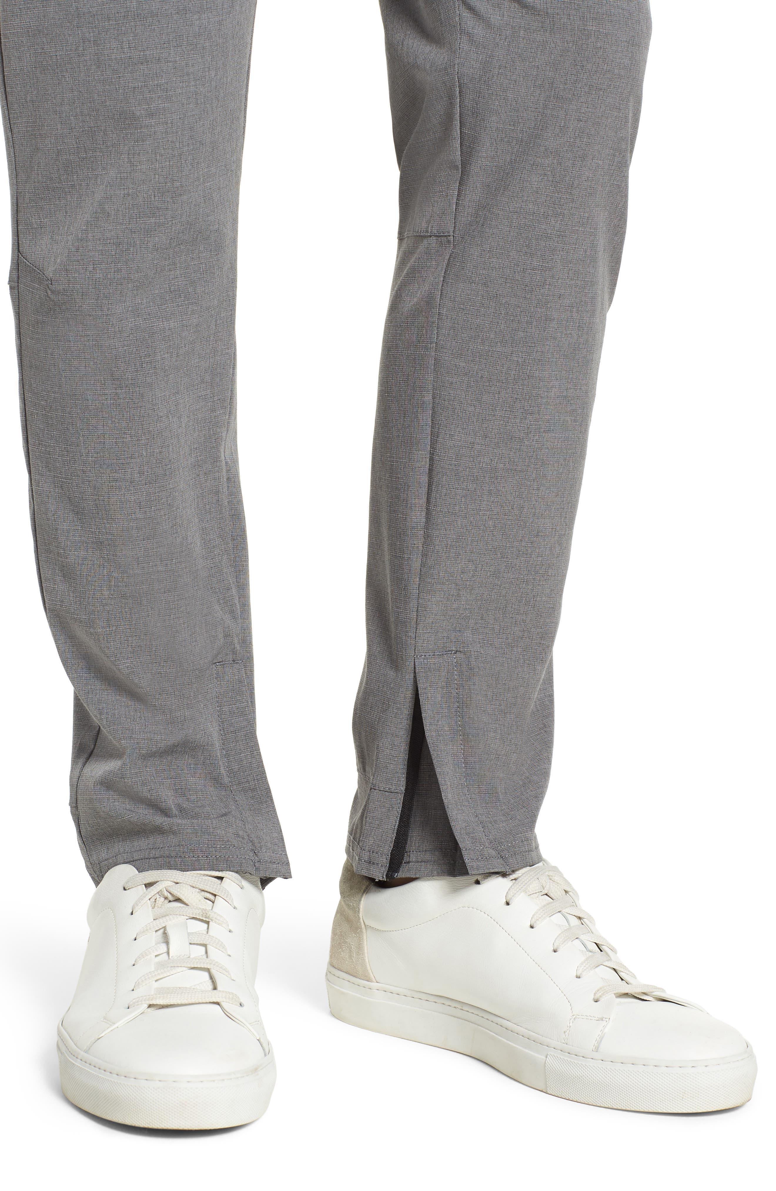 Gravity Athletic Fit Pants,                             Alternate thumbnail 4, color,                             Charcoal