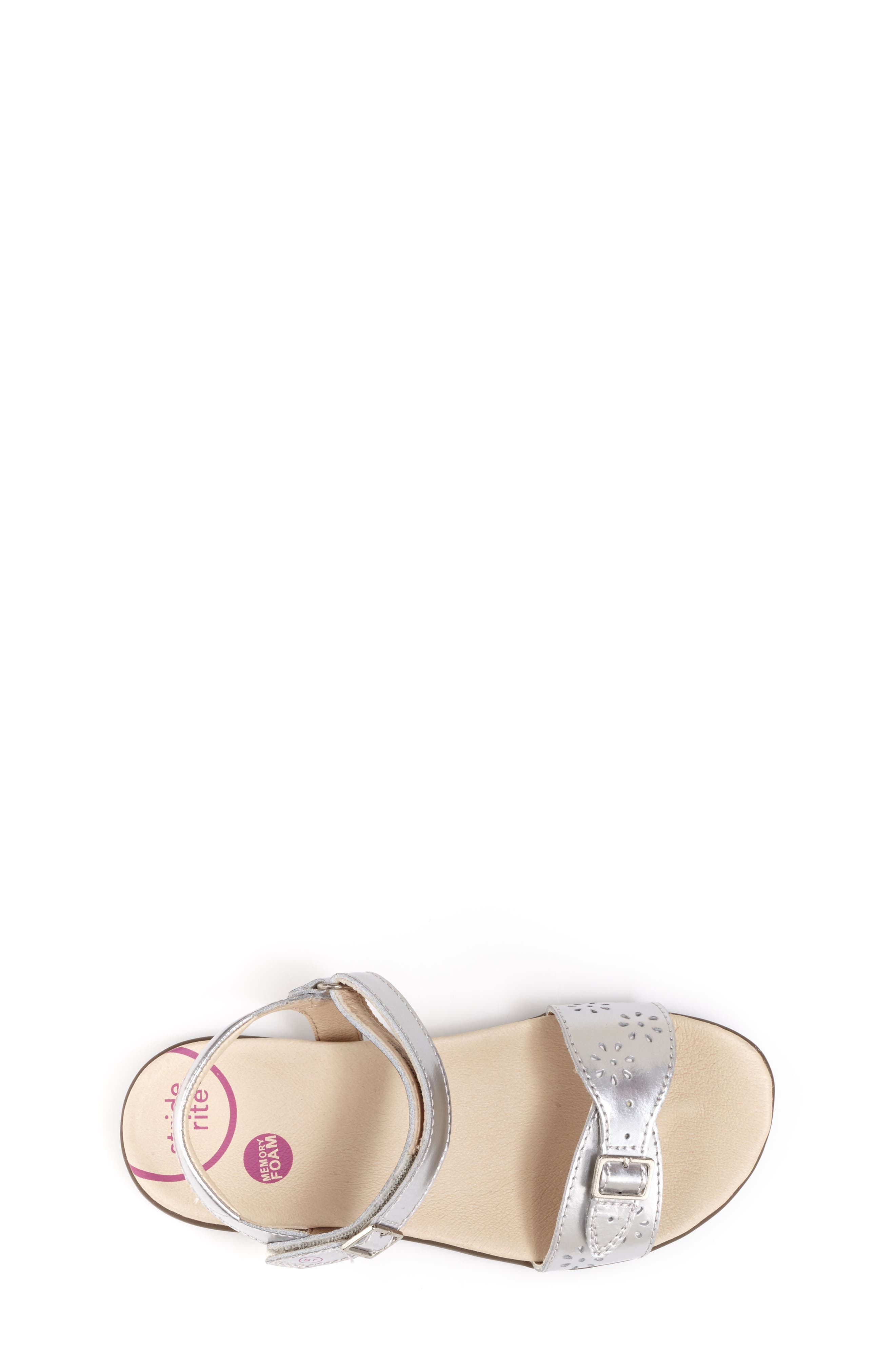 Roxanna Sandal,                             Alternate thumbnail 3, color,                             Silver Patent Leather