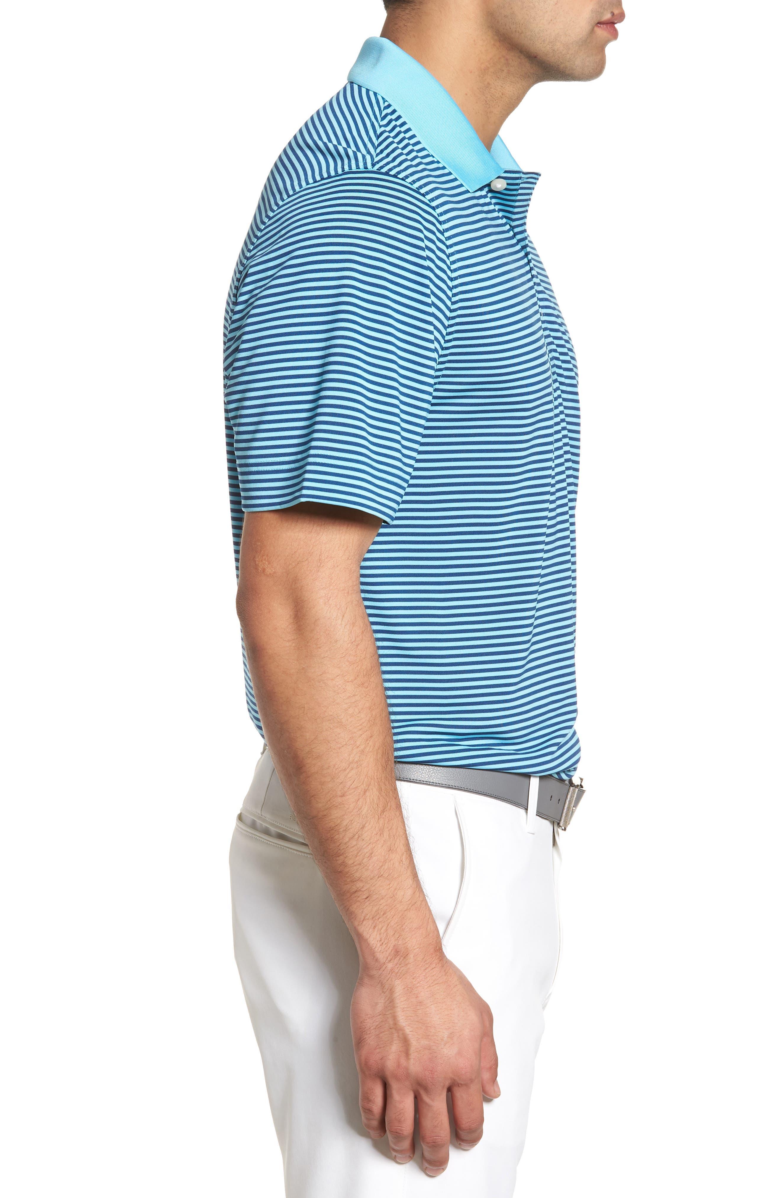 Alternate Image 3  - Cutter & Buck Trevor Stripe DryTec Polo