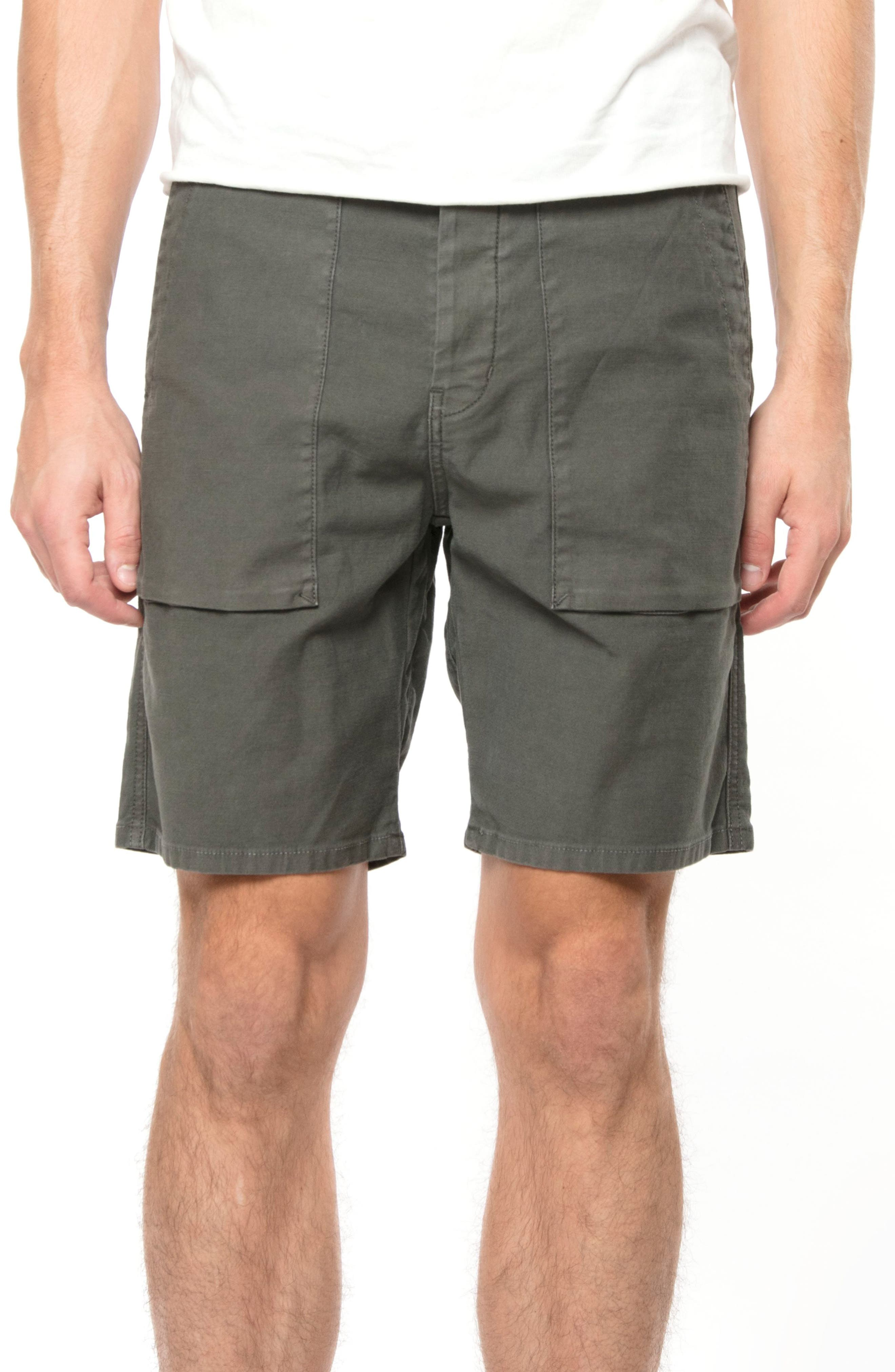 Kontact Shorts,                             Main thumbnail 1, color,                             Dull Catapult