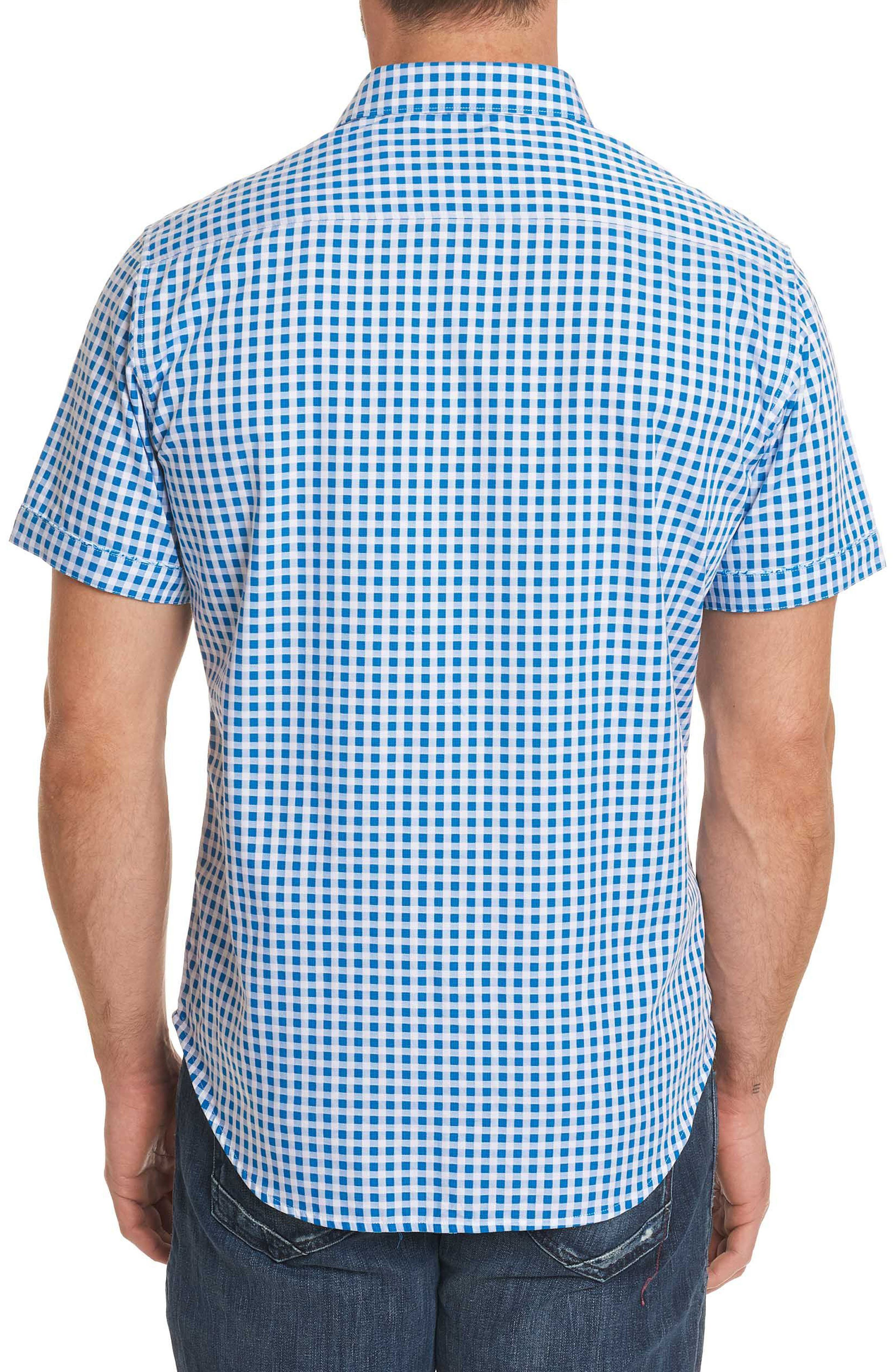 Morales Classic Fit Sport Shirt,                             Alternate thumbnail 5, color,                             Blue