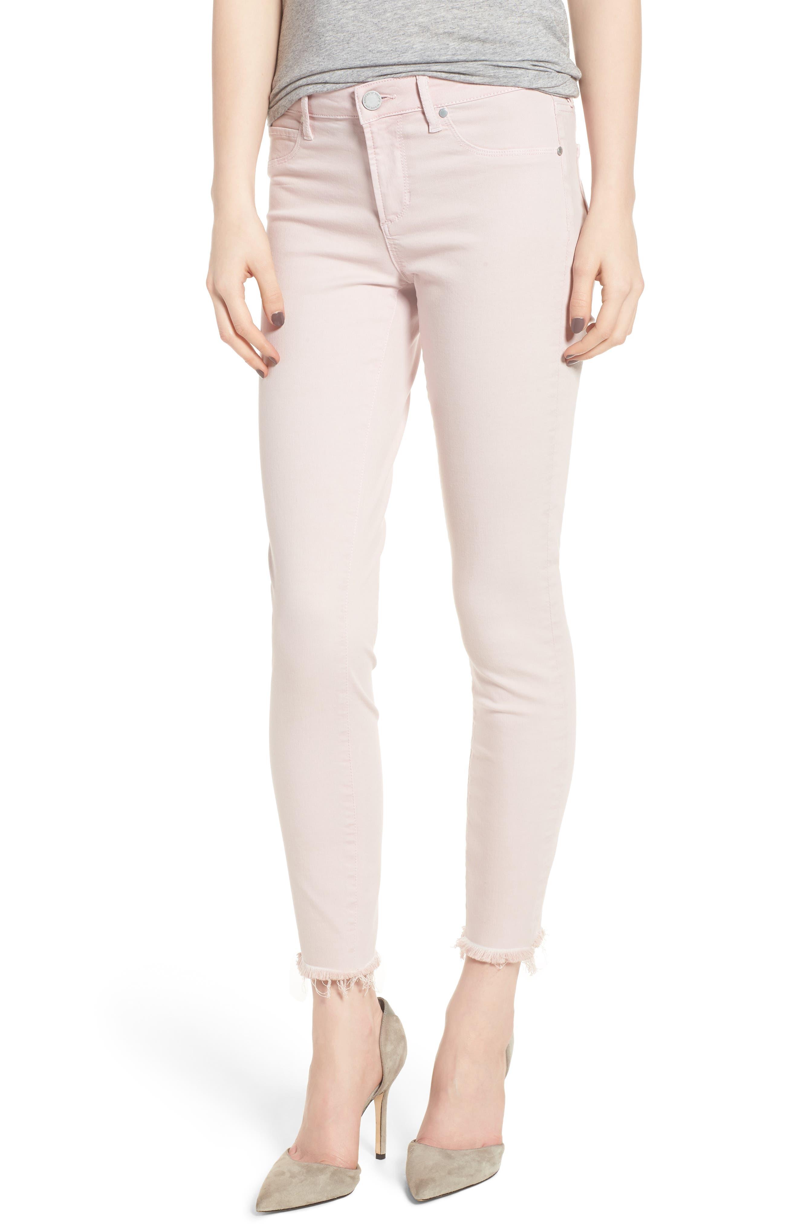 Carly Raw Hem Ankle Skinny Jeans,                             Main thumbnail 1, color,                             Dana Point