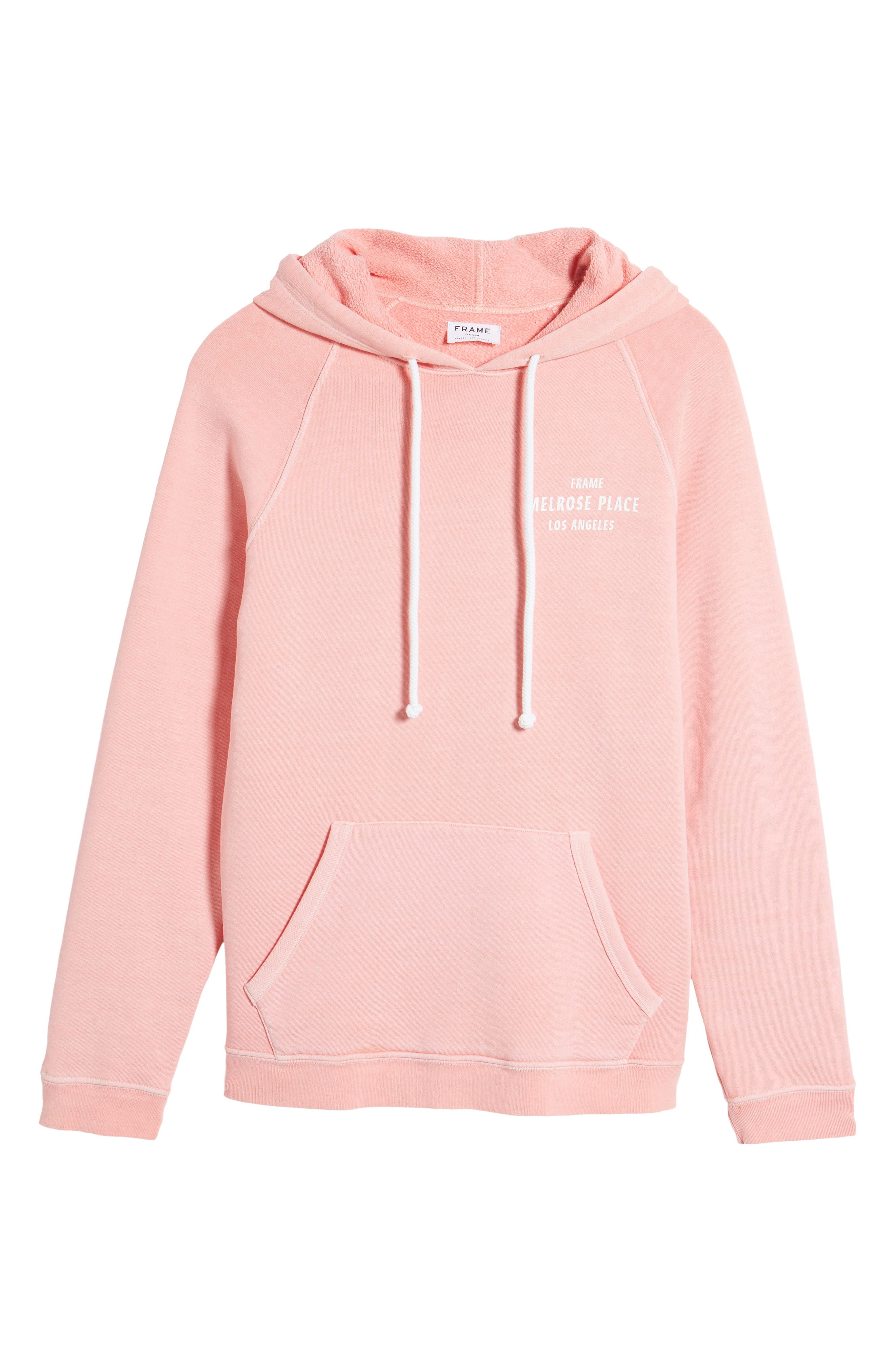 Vintage Pullover Hoodie,                             Alternate thumbnail 4, color,                             Faded Light Pink