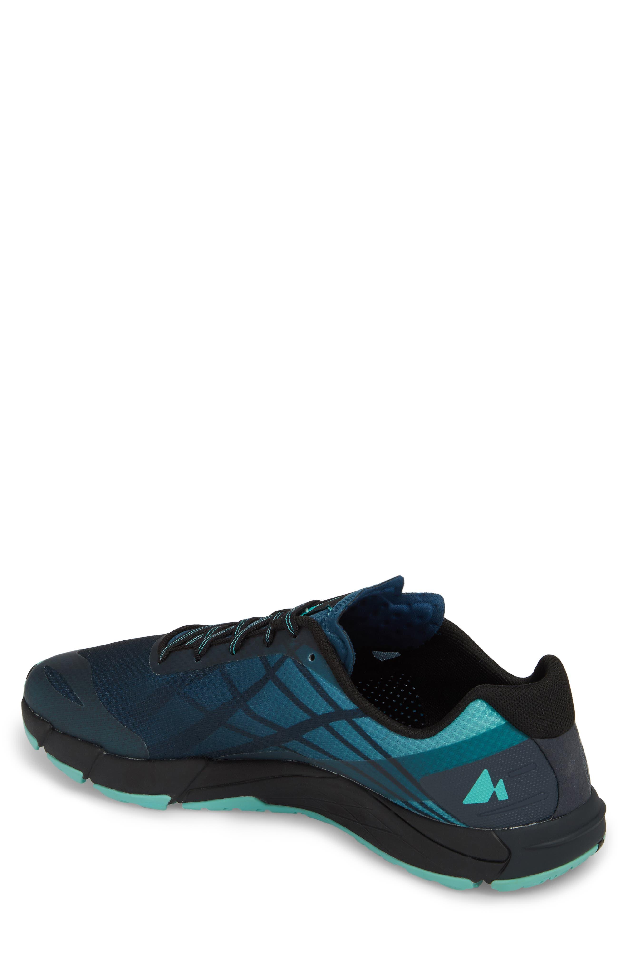 Bare Access Flex Running Shoe,                             Alternate thumbnail 2, color,                             Legion Blue