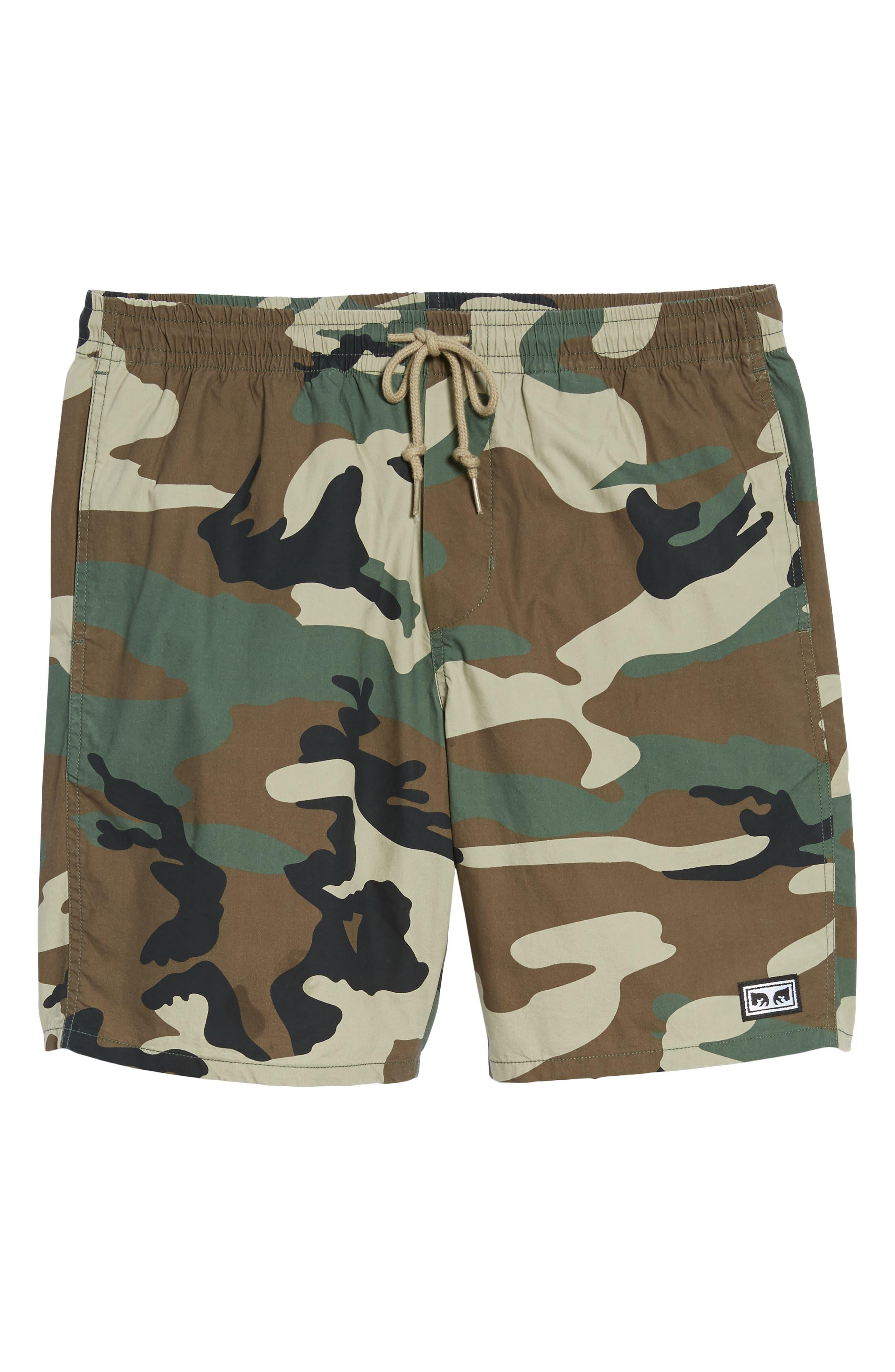 Subversion Shorts,                             Alternate thumbnail 6, color,                             Field Camo