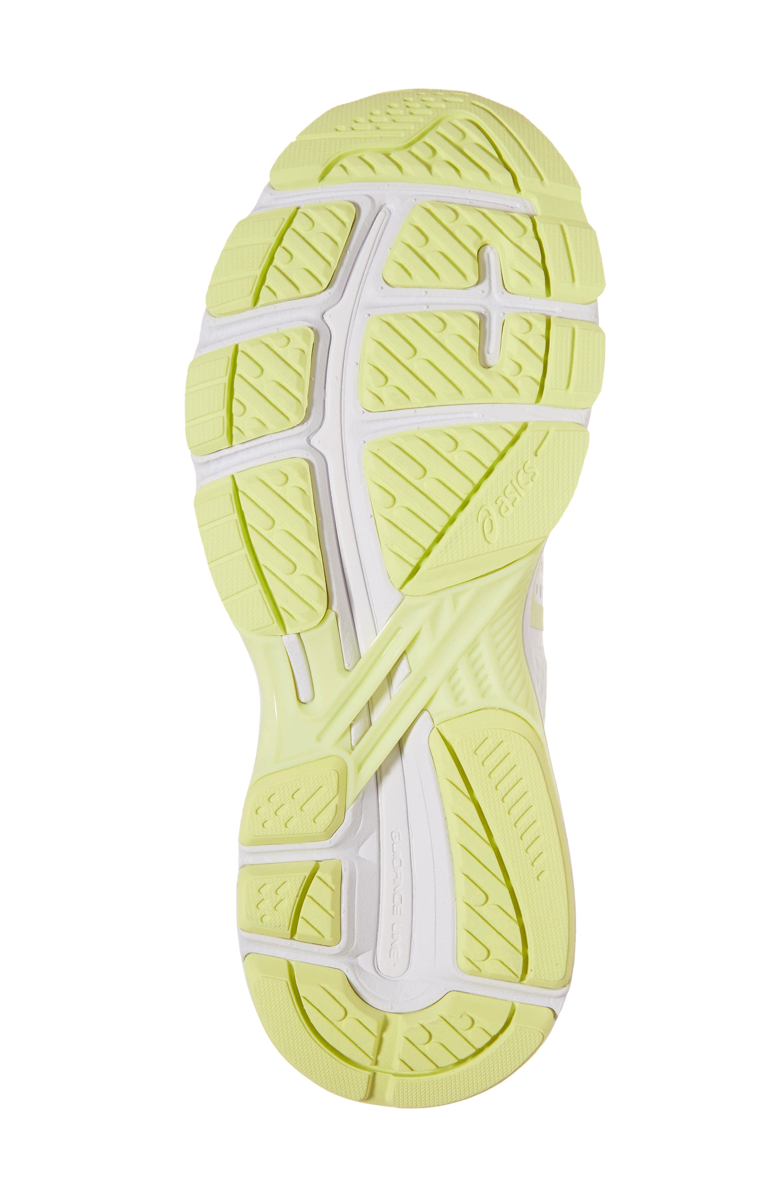 GT-2000 6 Running Shoe,                             Alternate thumbnail 6, color,                             White/ Silver/ Limelight